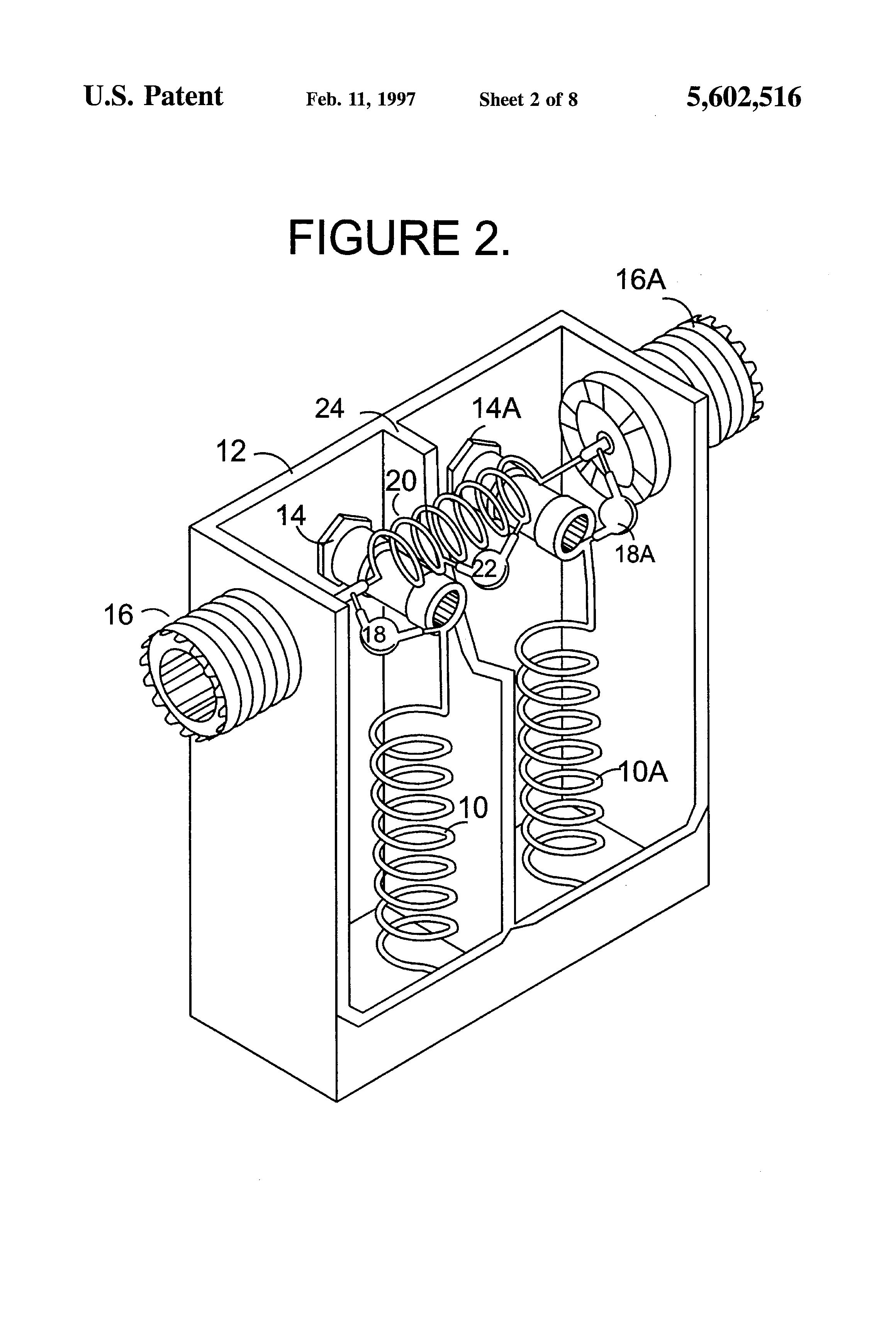 patent us5602516 - asymmetrical notch filter