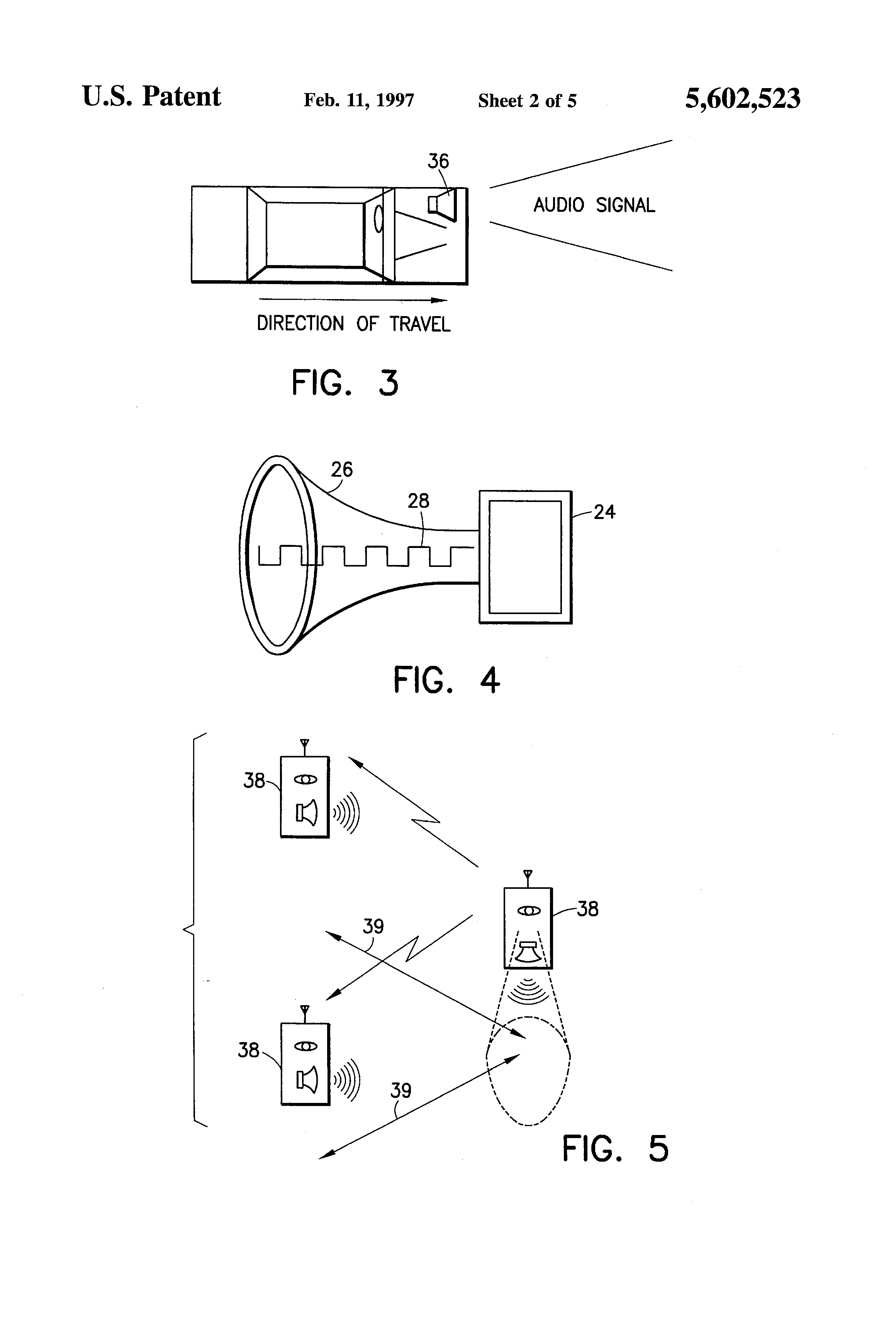 patent us5602523 - deer repellent system