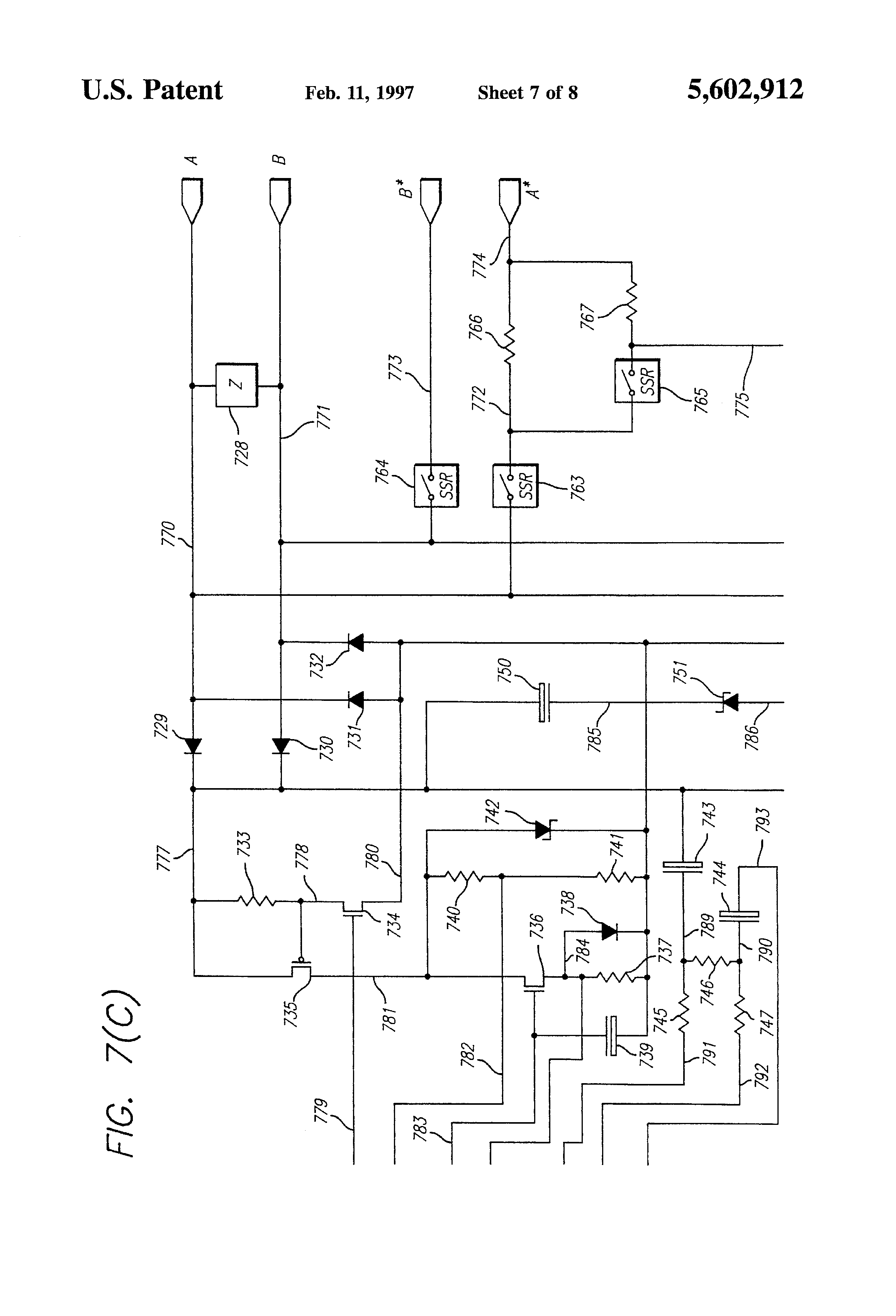 US5602912 7 patent us5602912 telephone hybrid circuit google patents  at fashall.co