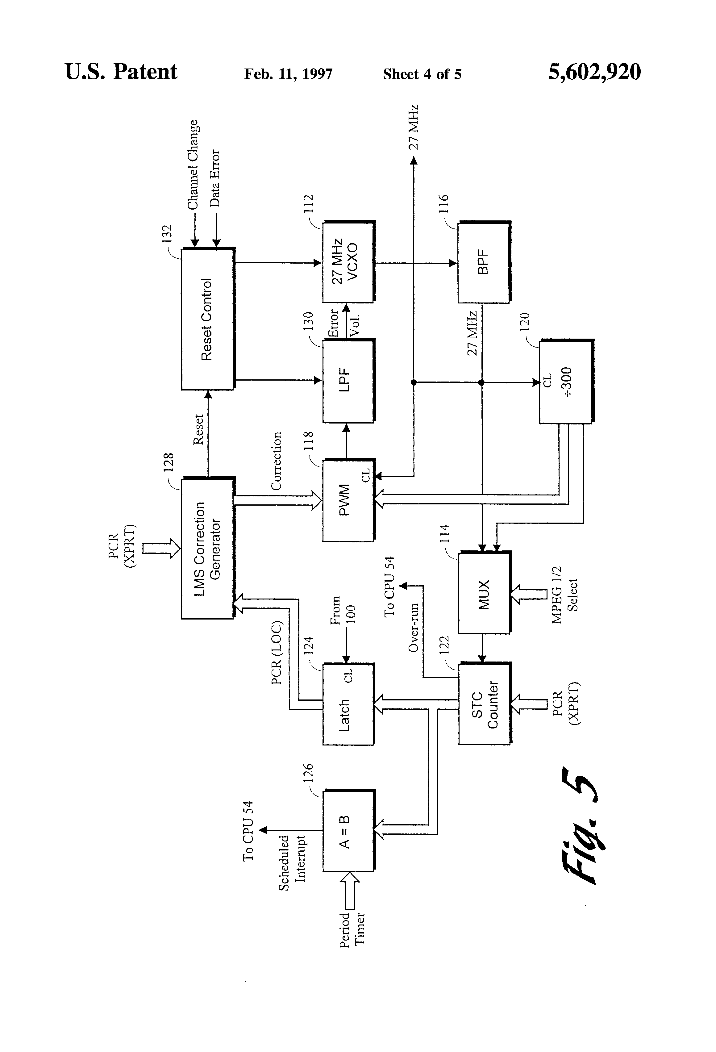 Patent Us5602920 Combined Dcam And Transport Demultiplexer Block Diagram Of 12 Drawing