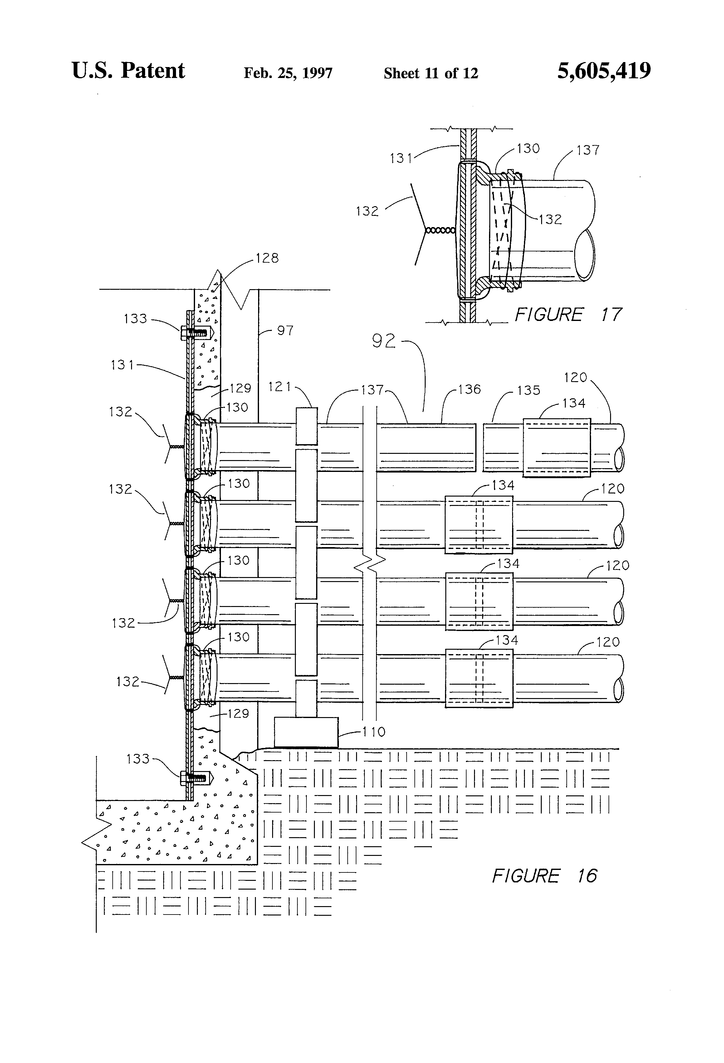 patent us5605419 - underground duct banks