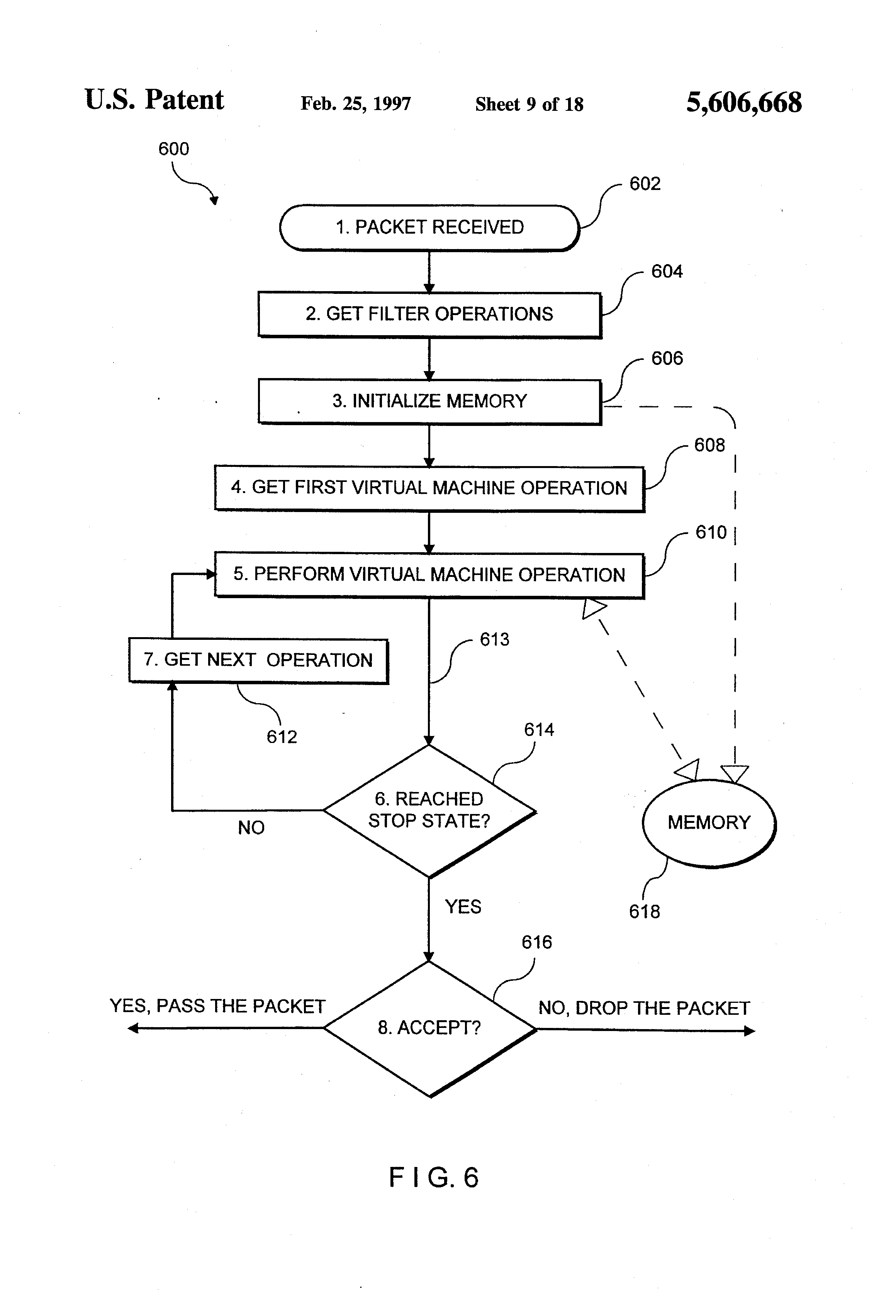 patent us system for securing inbound and outbound data patent drawing