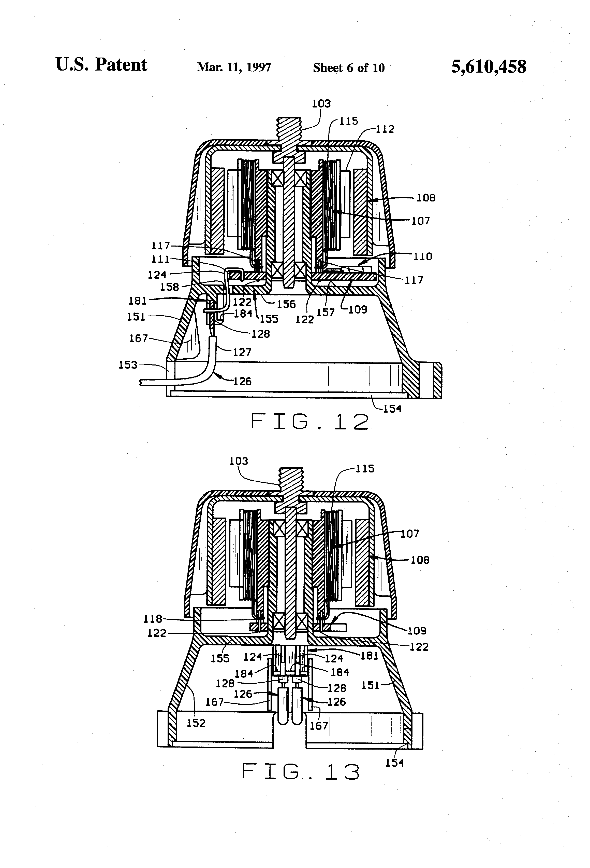 patente us5610458