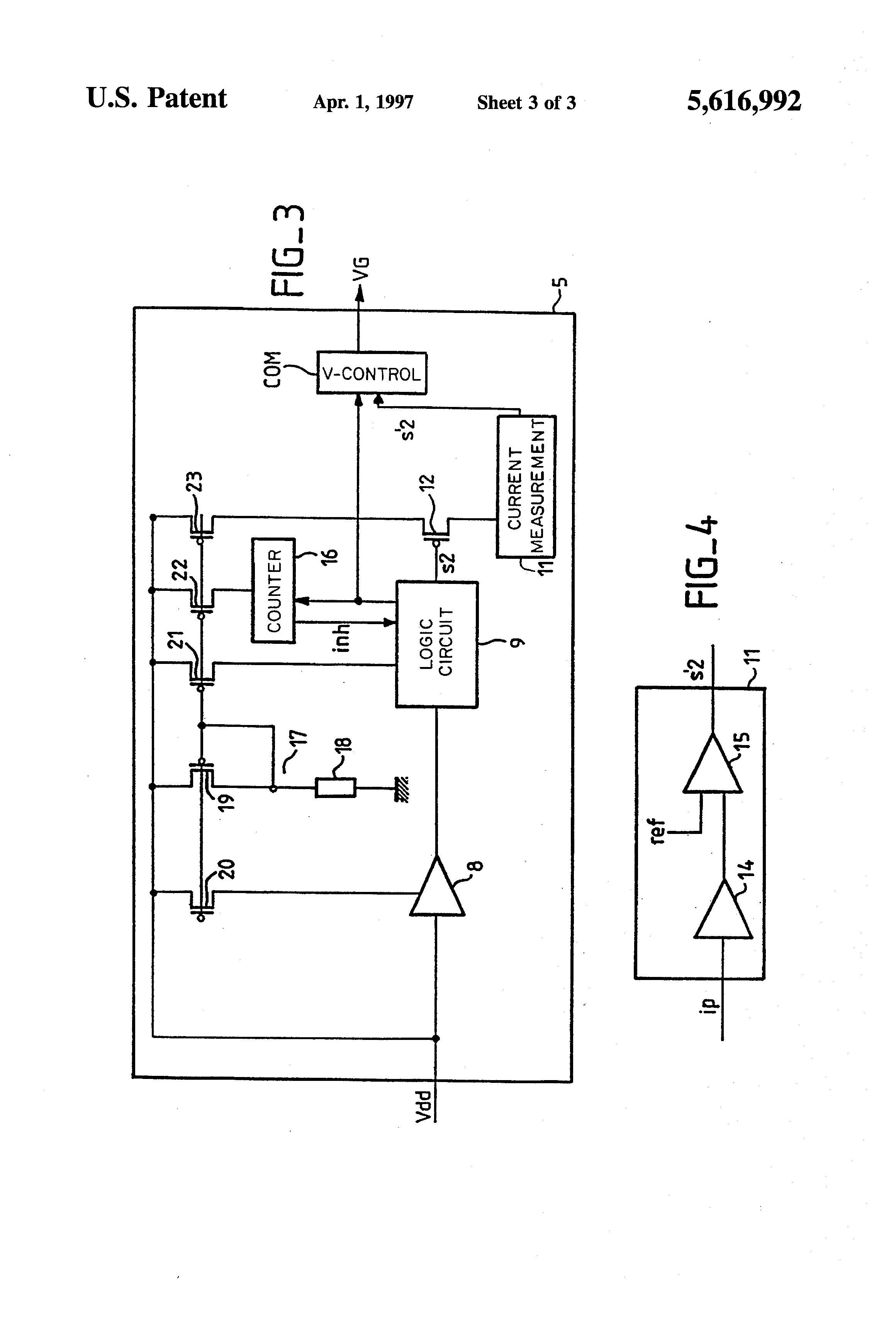 patent us5616992