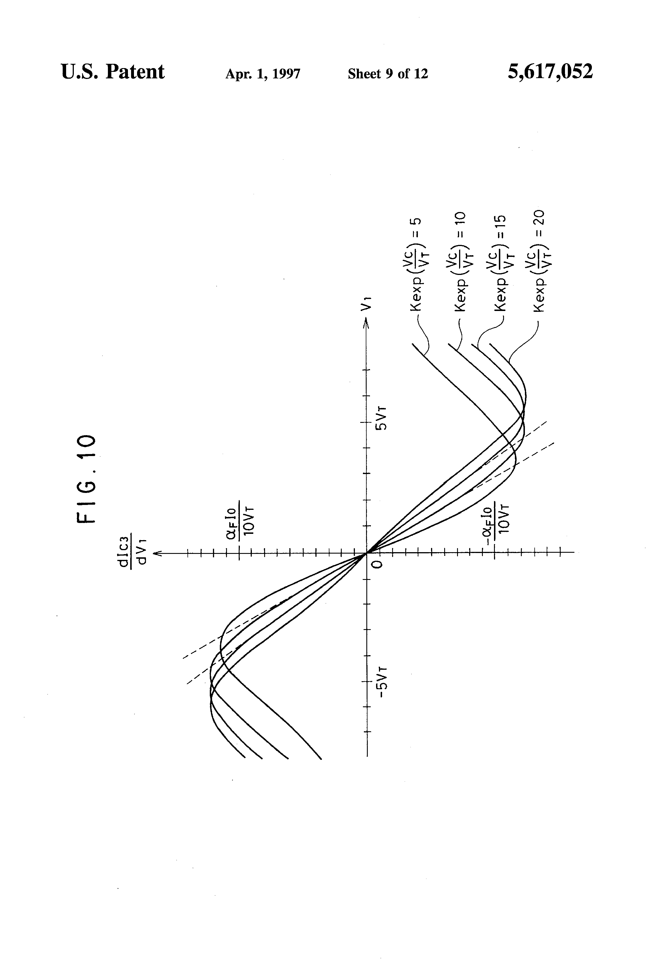 Patent Us5617052 Transconductance Variable Analog Multiplier Using Fourquadrantanalogmultiplier Amplifiercircuit Circuit Diagram Drawing