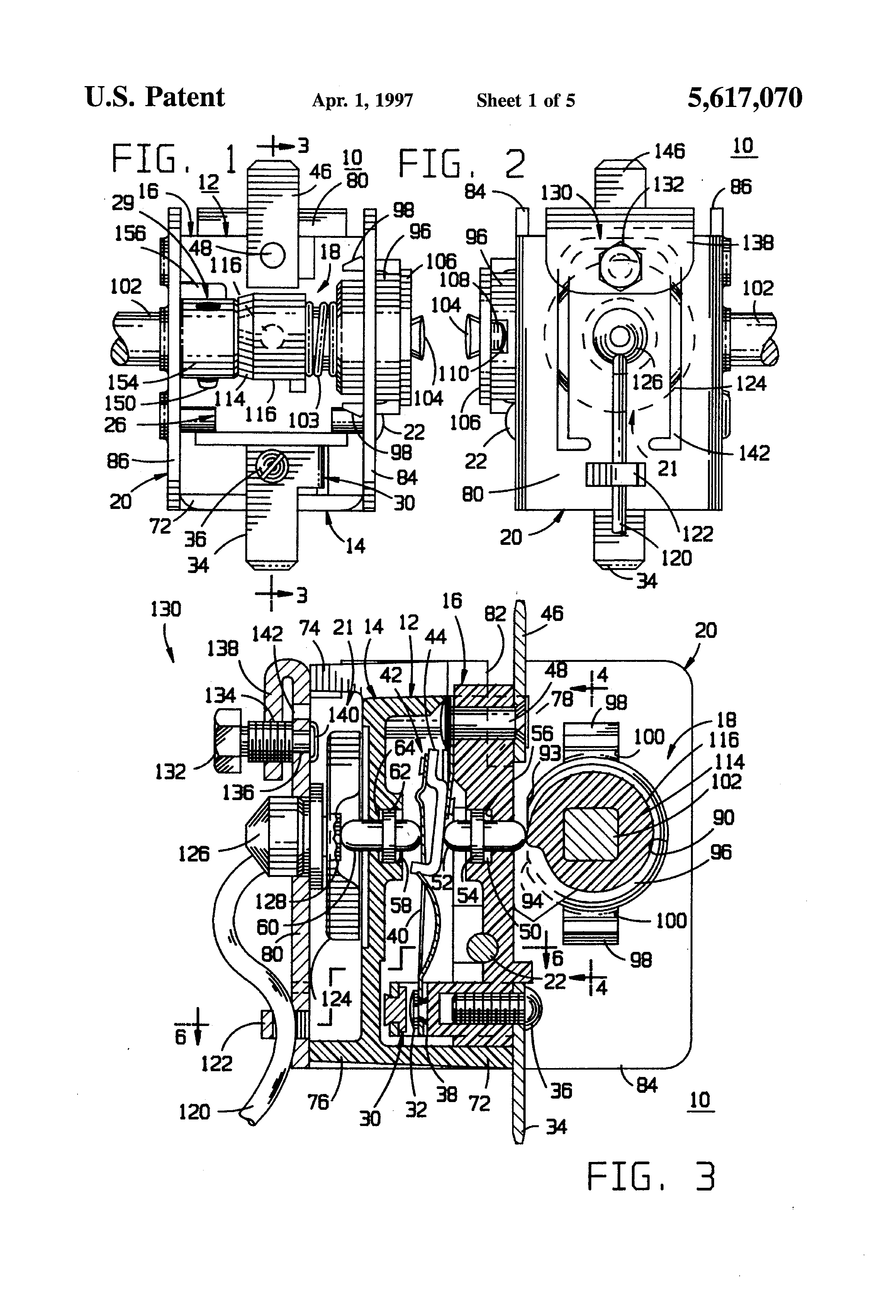 Patent Us5617070 Gas Electric Oven Thermostat With Self Cleaning Eaton Wiring Diagram Drawing
