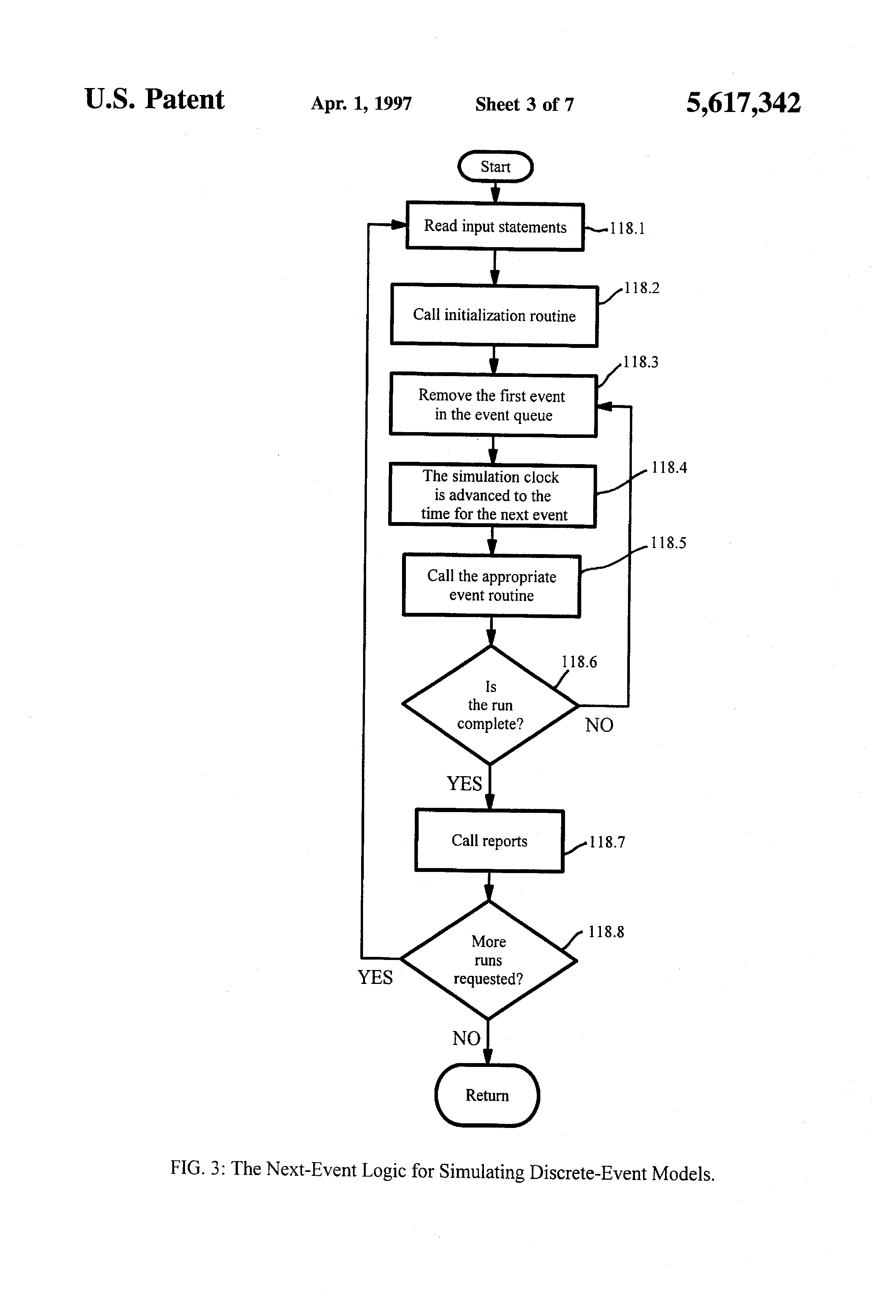 patent drawing - Staffing Flowchart
