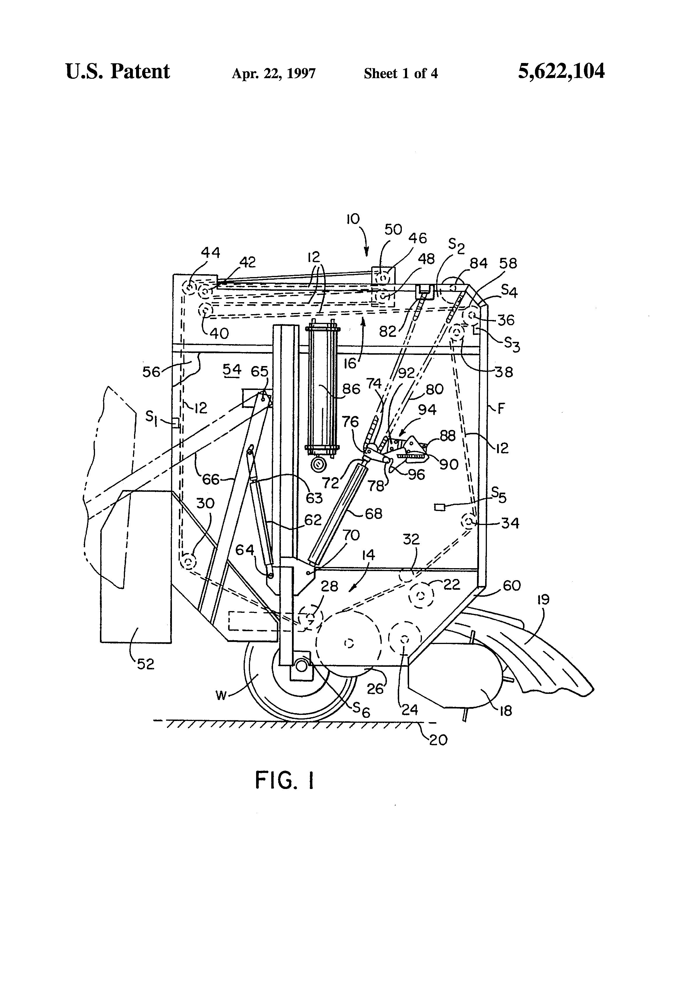 patent us5622104