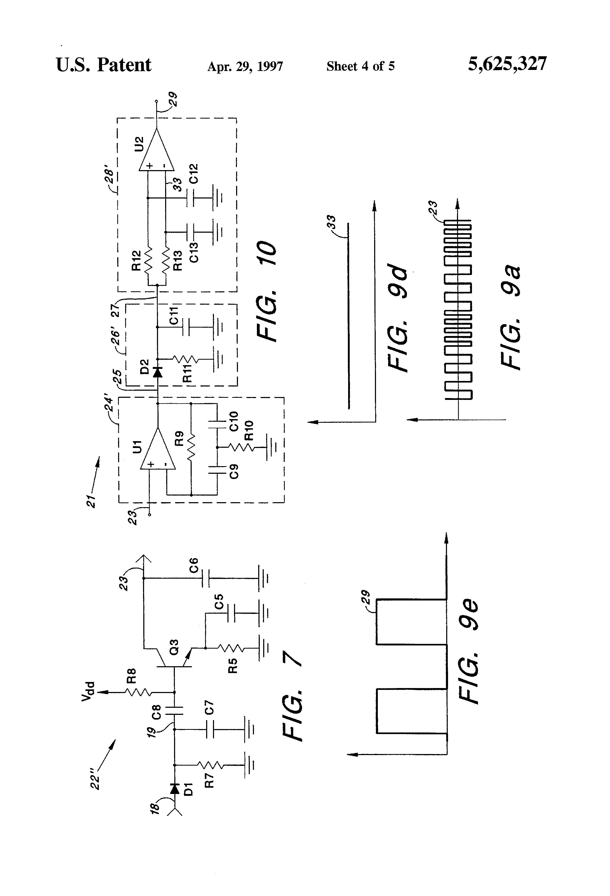 patent us5625327
