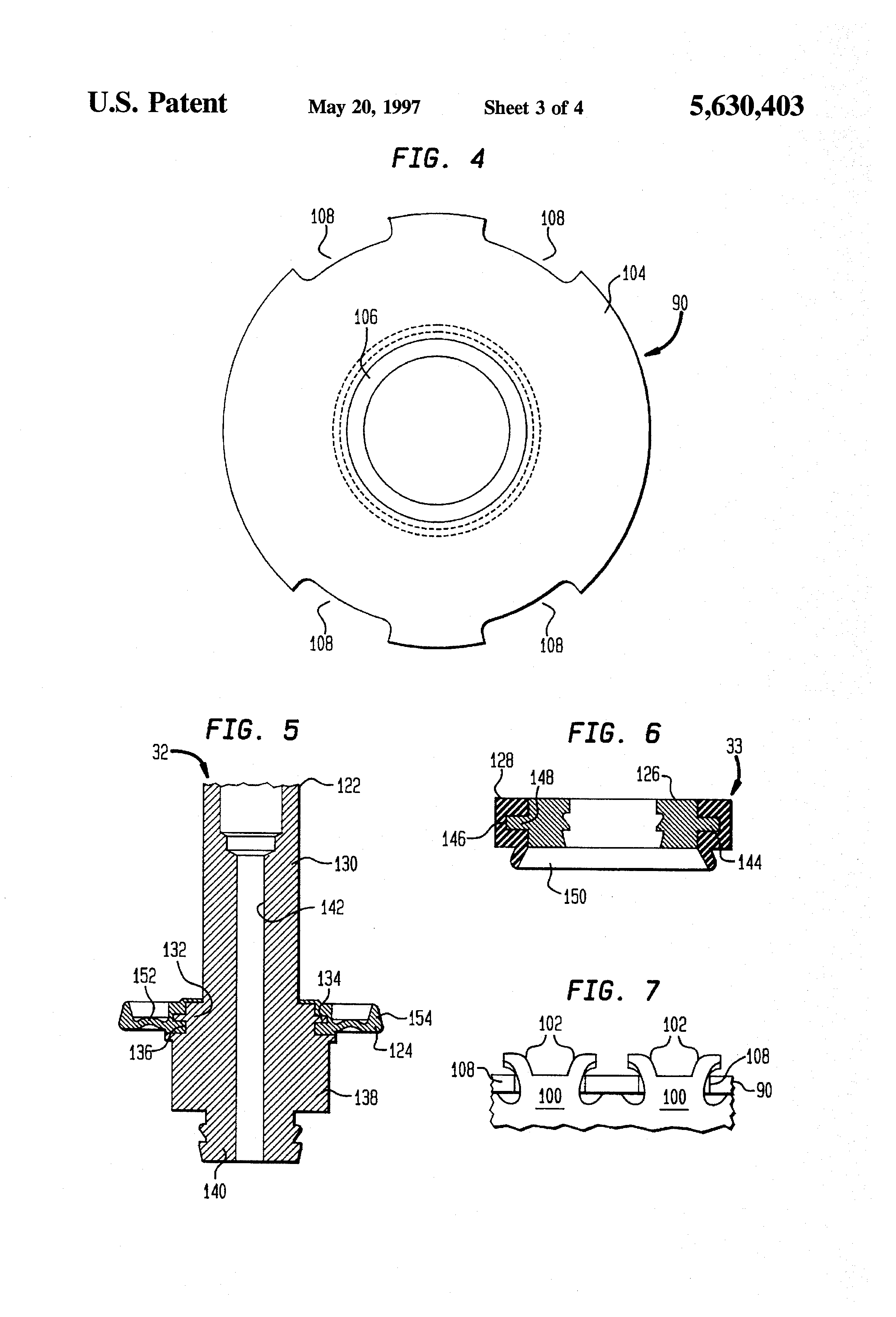 Patent Us5630403 Force Balanced Sonic Flow Emission Control Valve Bunn Hg Wiring Diagram Drawing