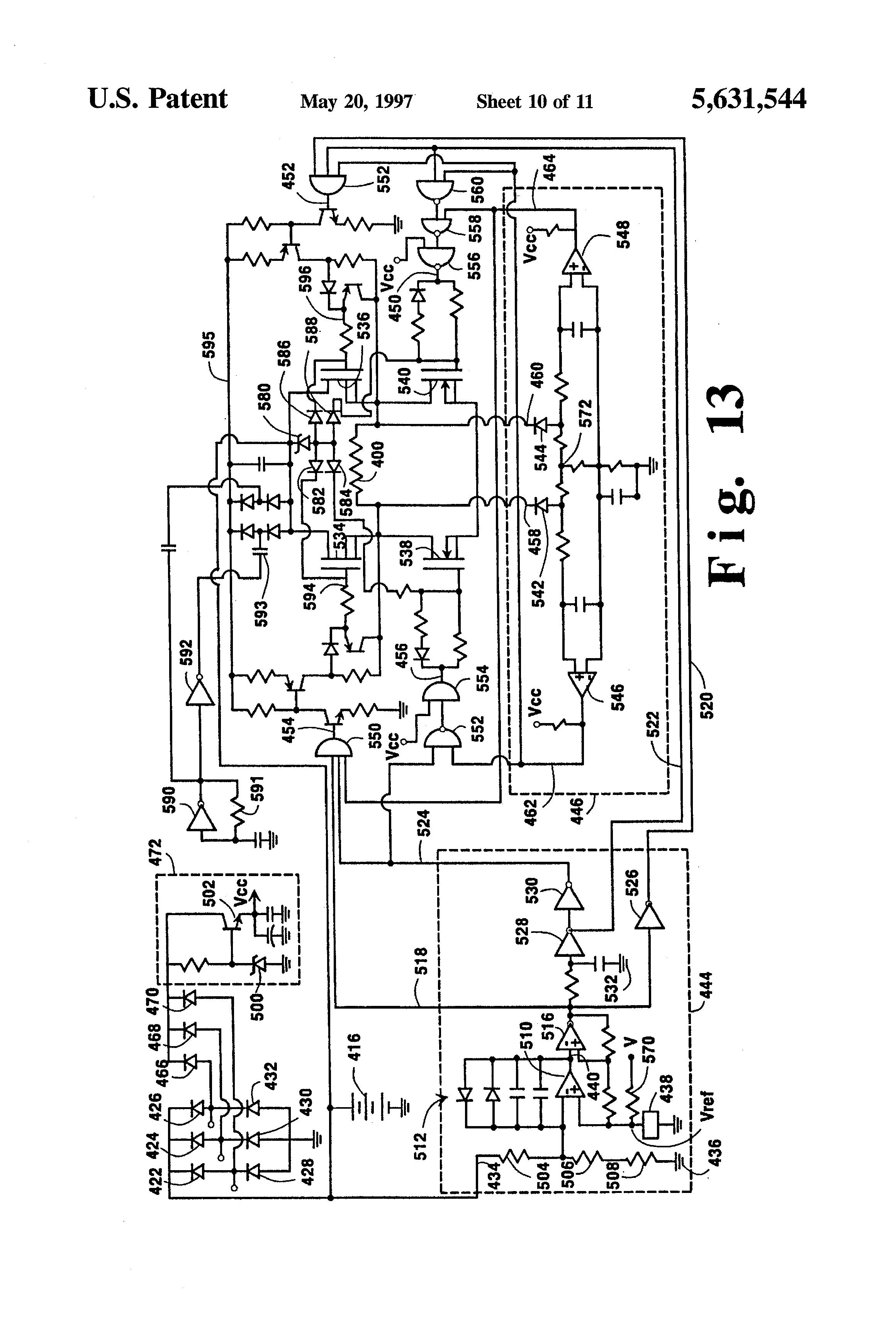 patent us5631544 hybrid alternator voltage regulator patent drawing