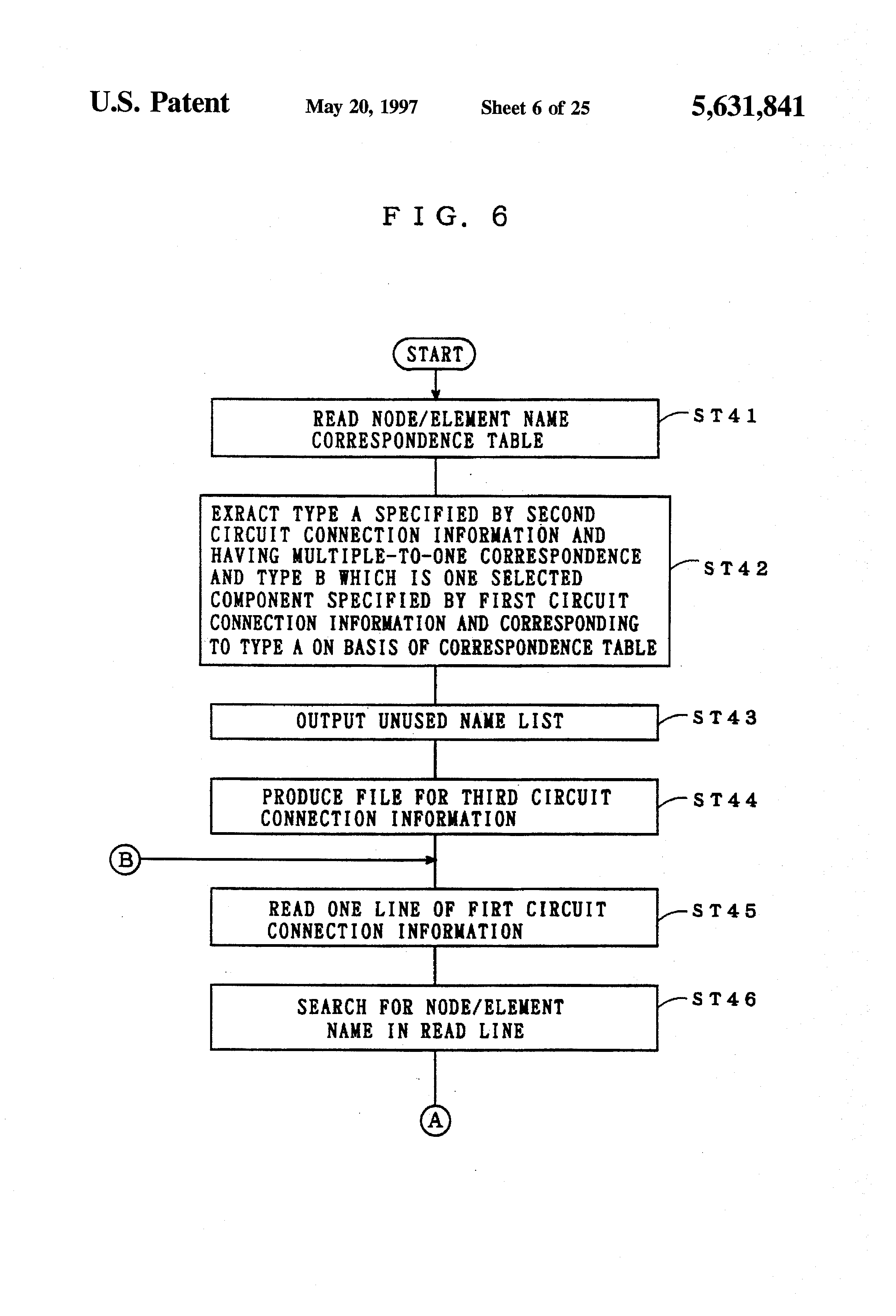 Patent US5631841 - Circuit connection information generation through ...