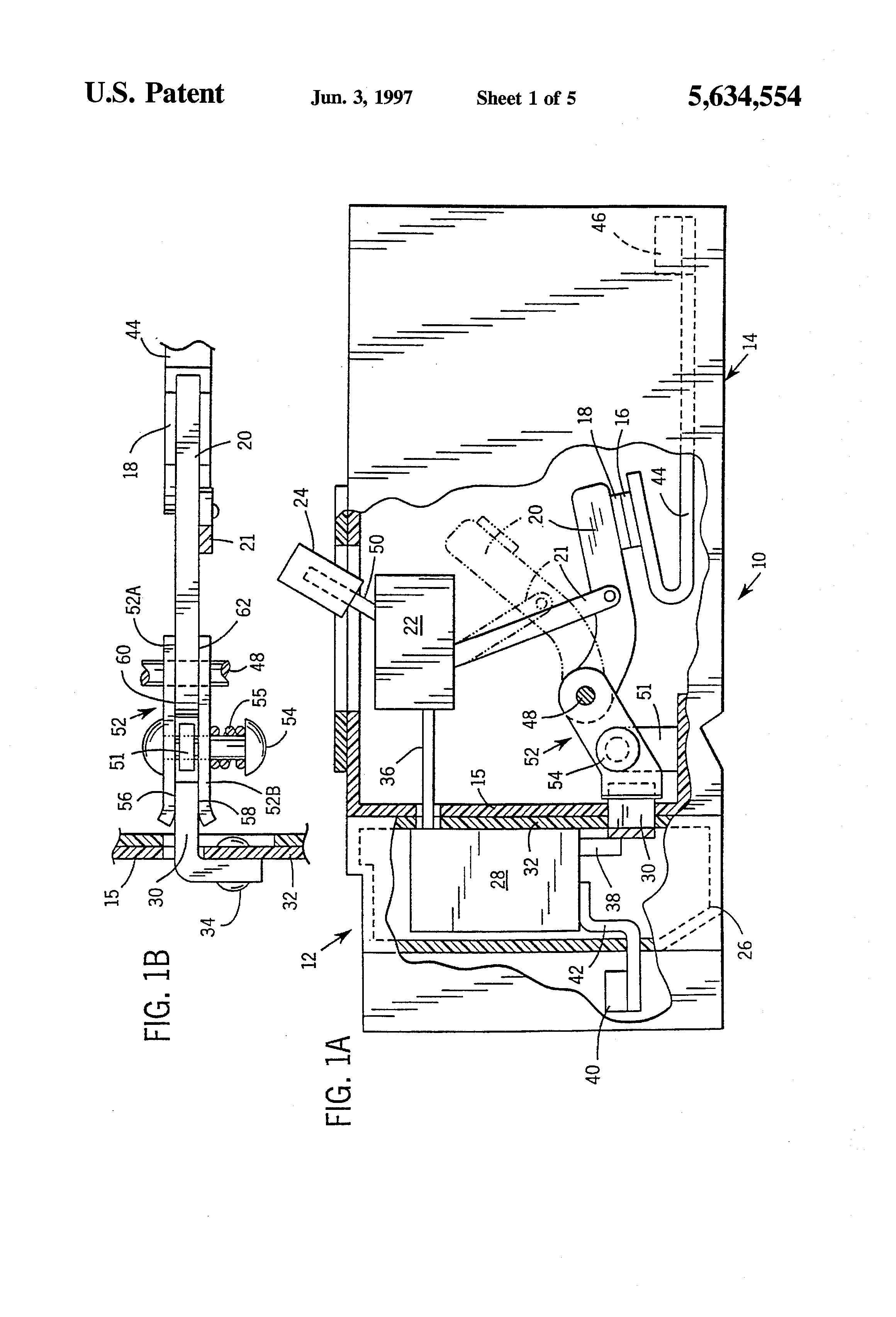 patent us5634554