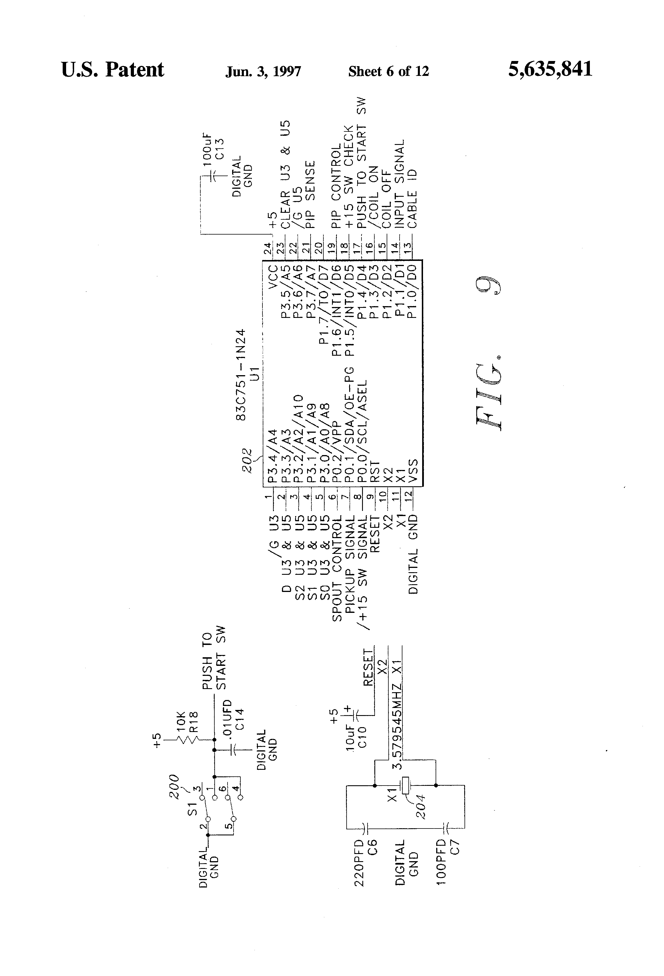 patent us5635841 - electronic ignition control module test system