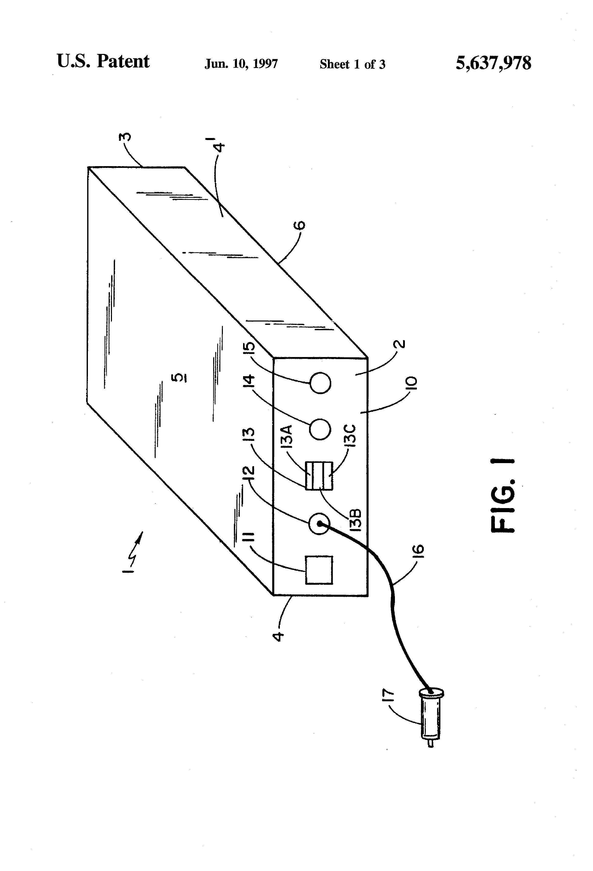 patent us5637978 - battery booster