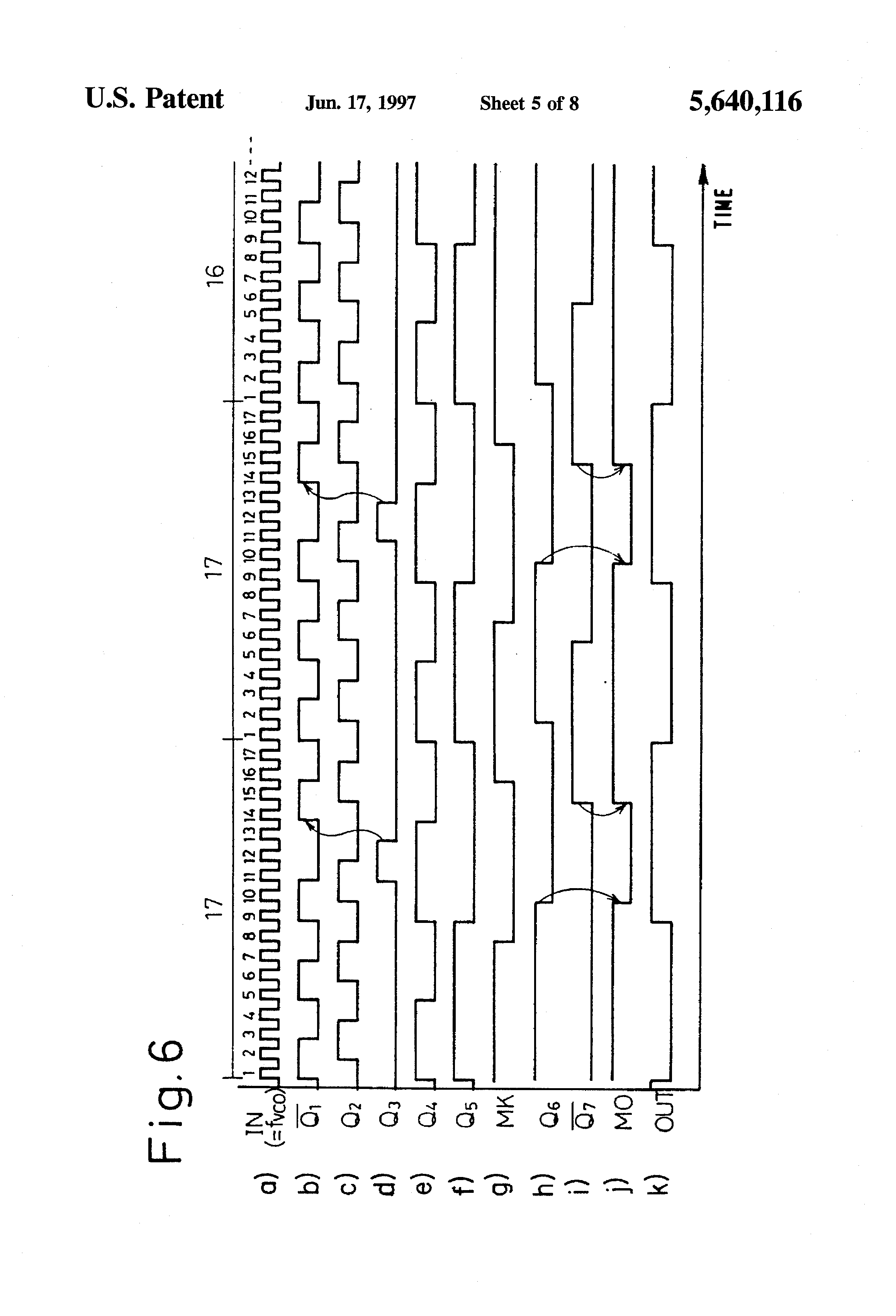 patent us5640116 - pll circuit of pulse swallow-type prescaler system