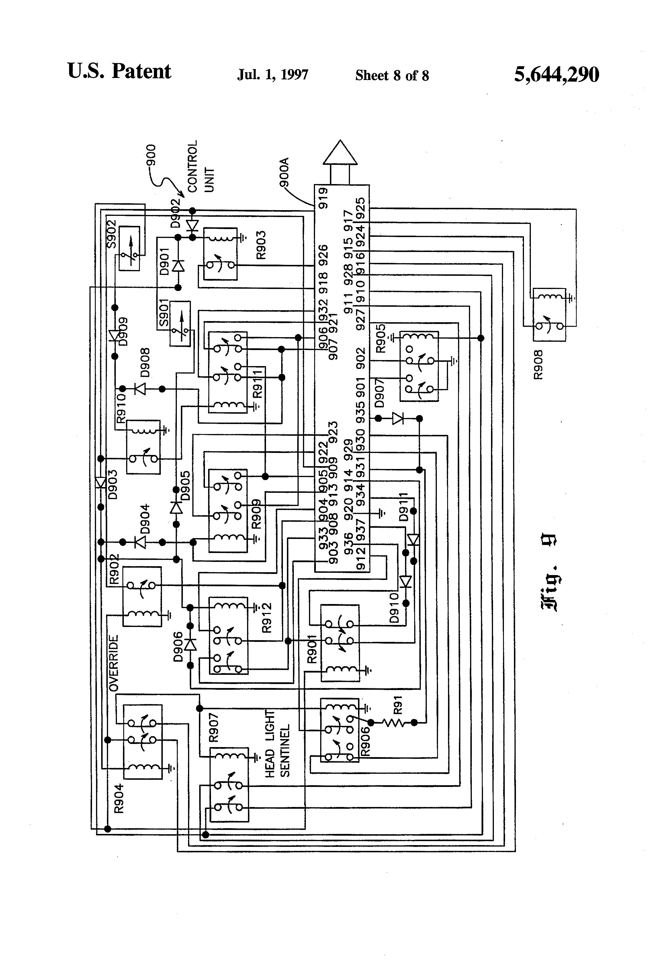Patent Us5644290 - Blackout Control System