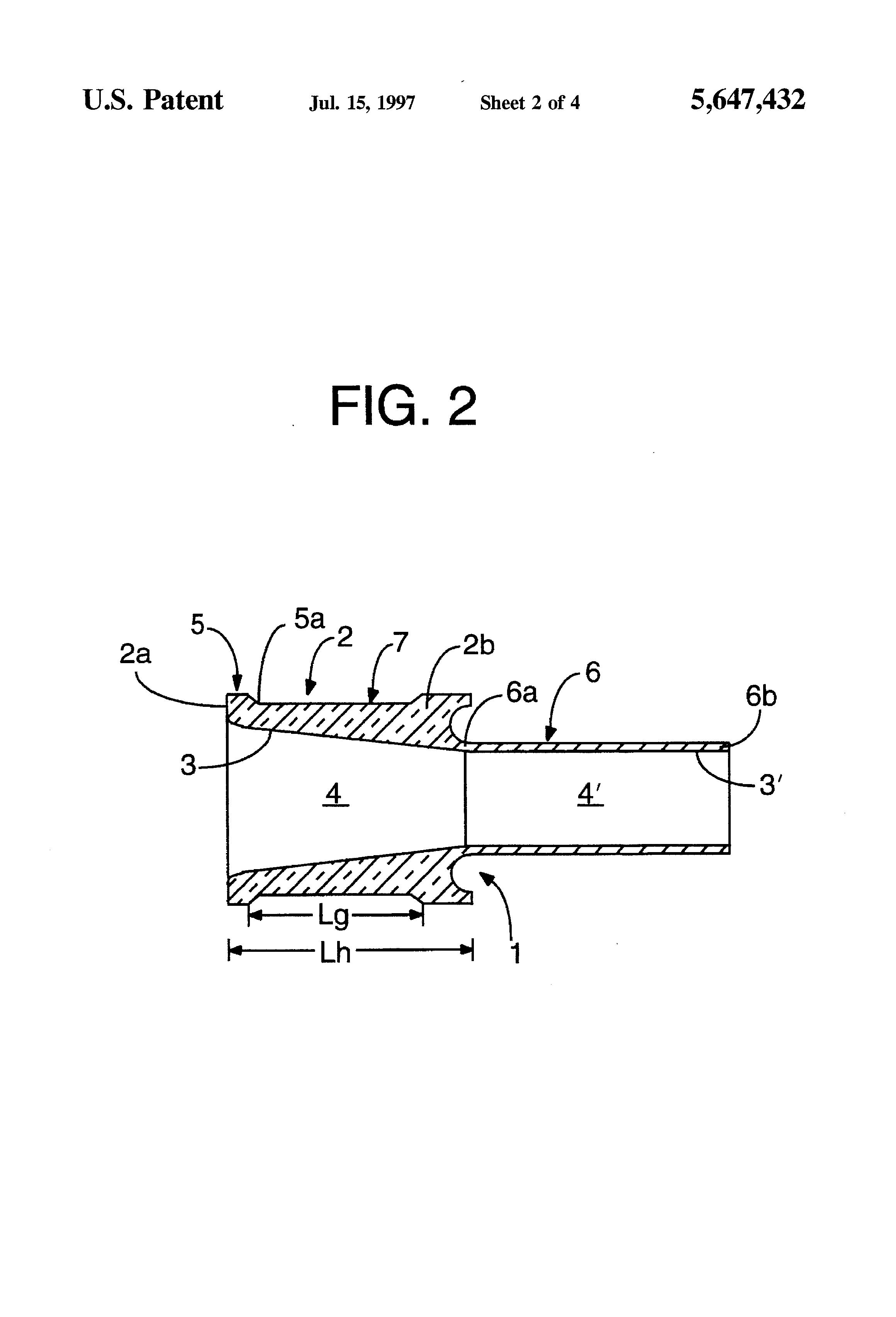 Patent us ceramic ferrule and