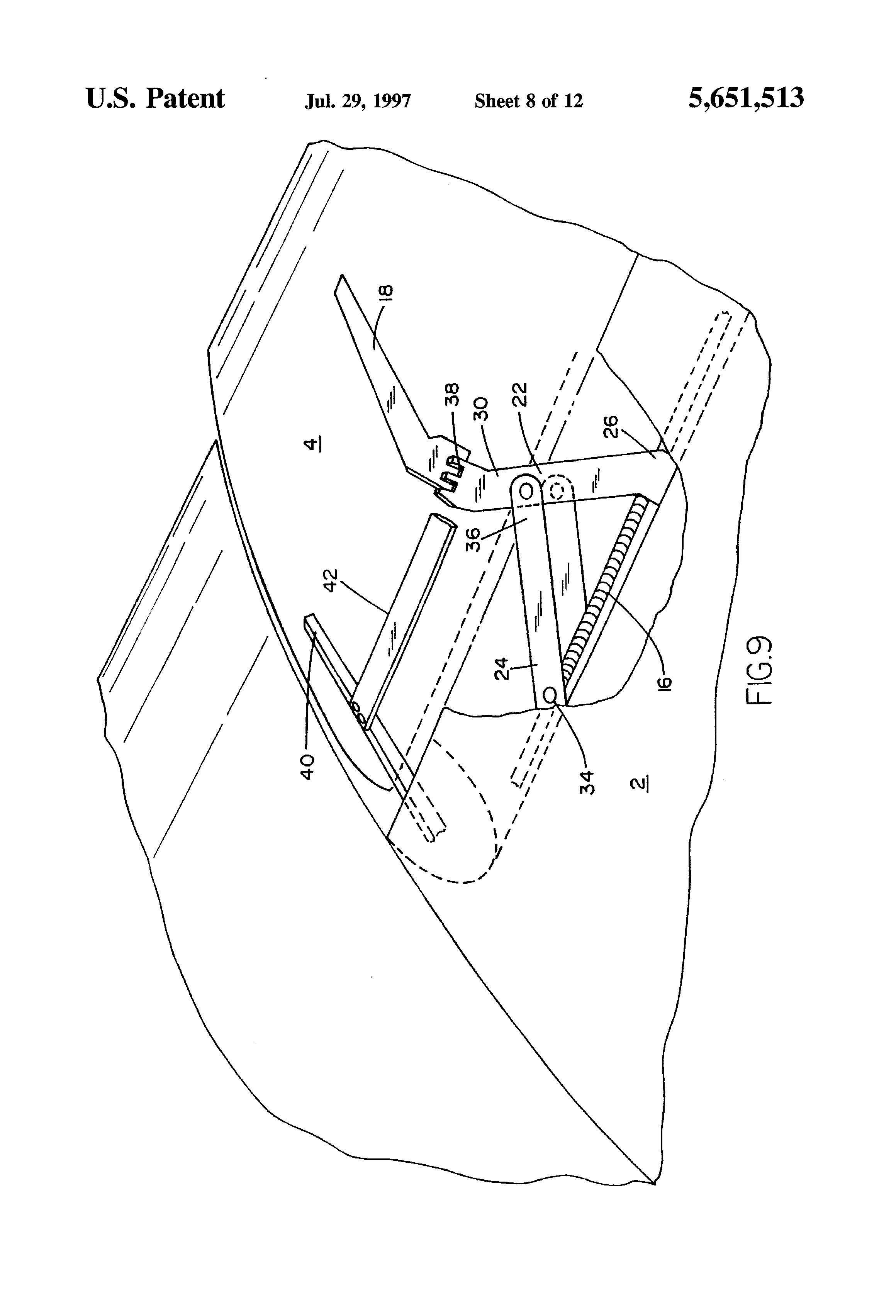 Patent US5651513 Linear flap drive system Google Patents – Dixon 4423 Wiring-diagram