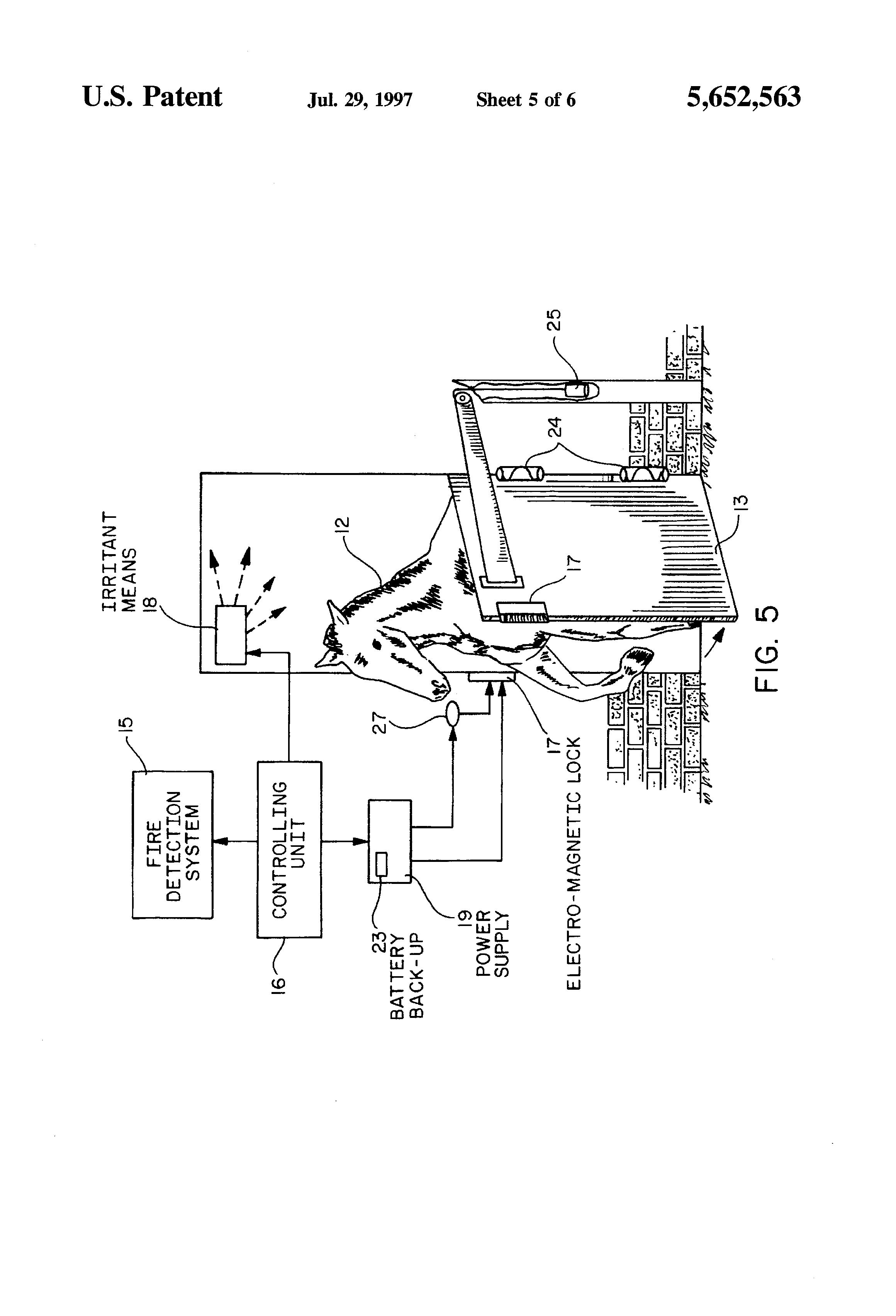 patent us5652563