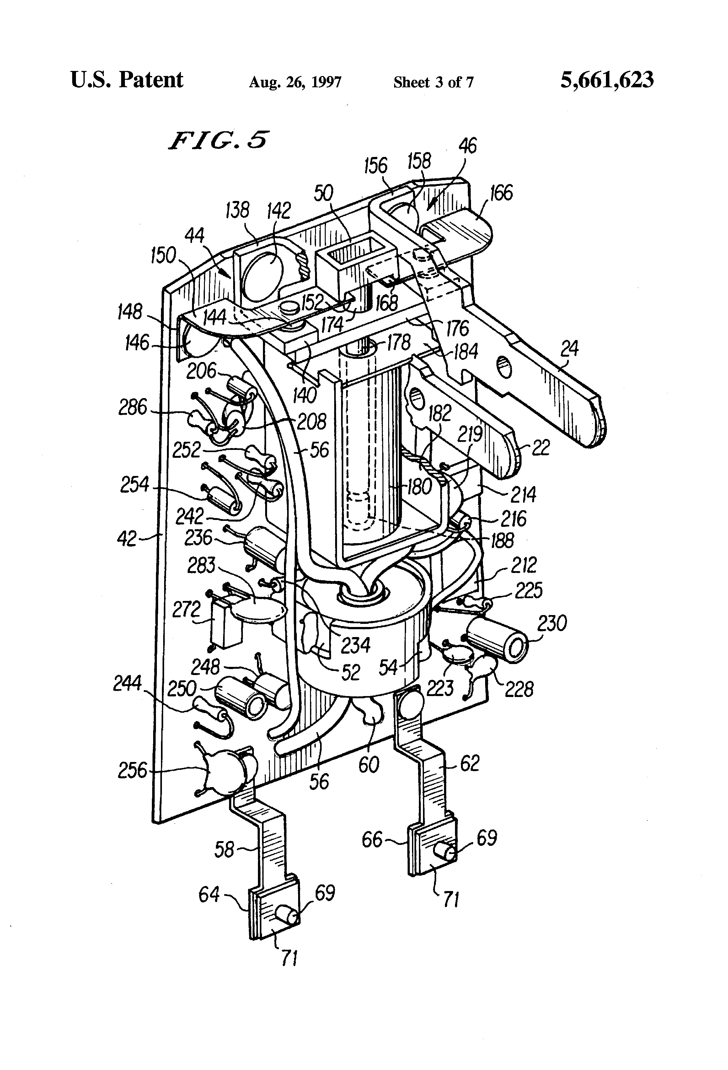 patent us5661623 - ground fault circuit interrupter plug