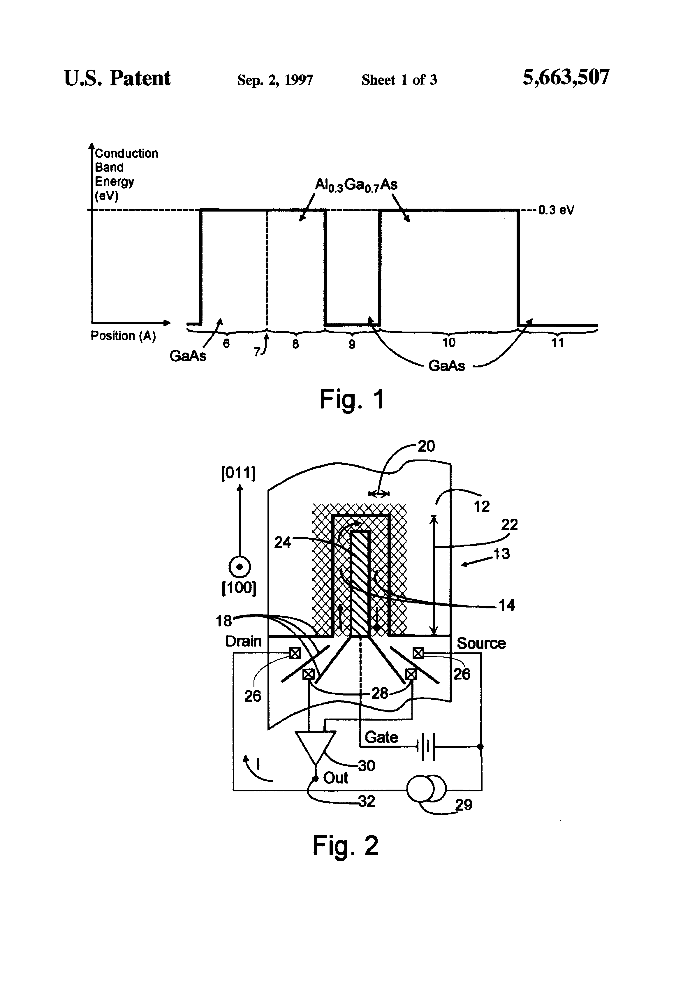 patent us5663507 - semiconductor piezoelectric strain measuring transducer