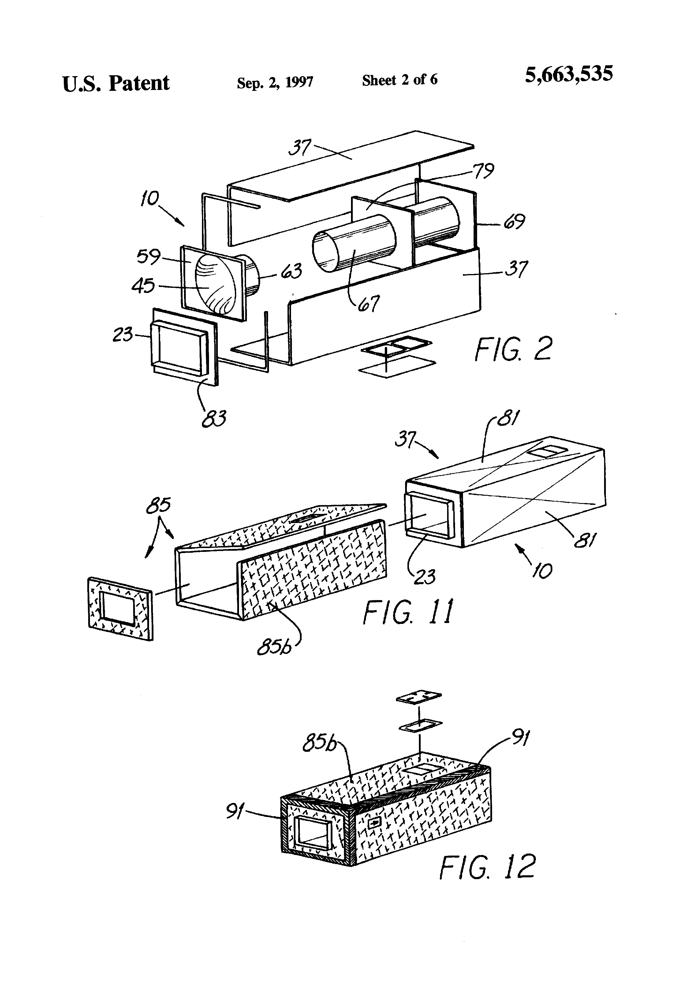 patent us5663535