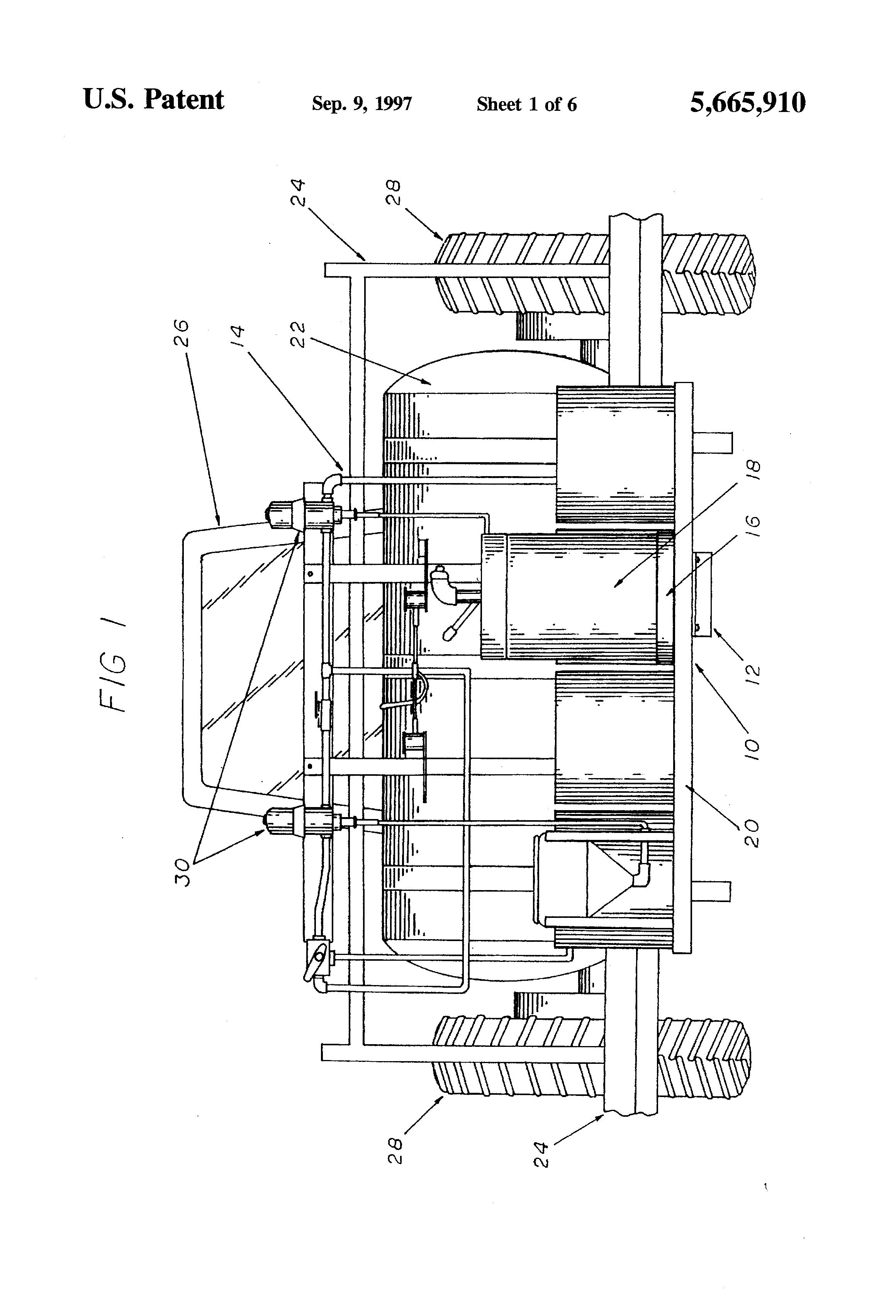 patent us5665910