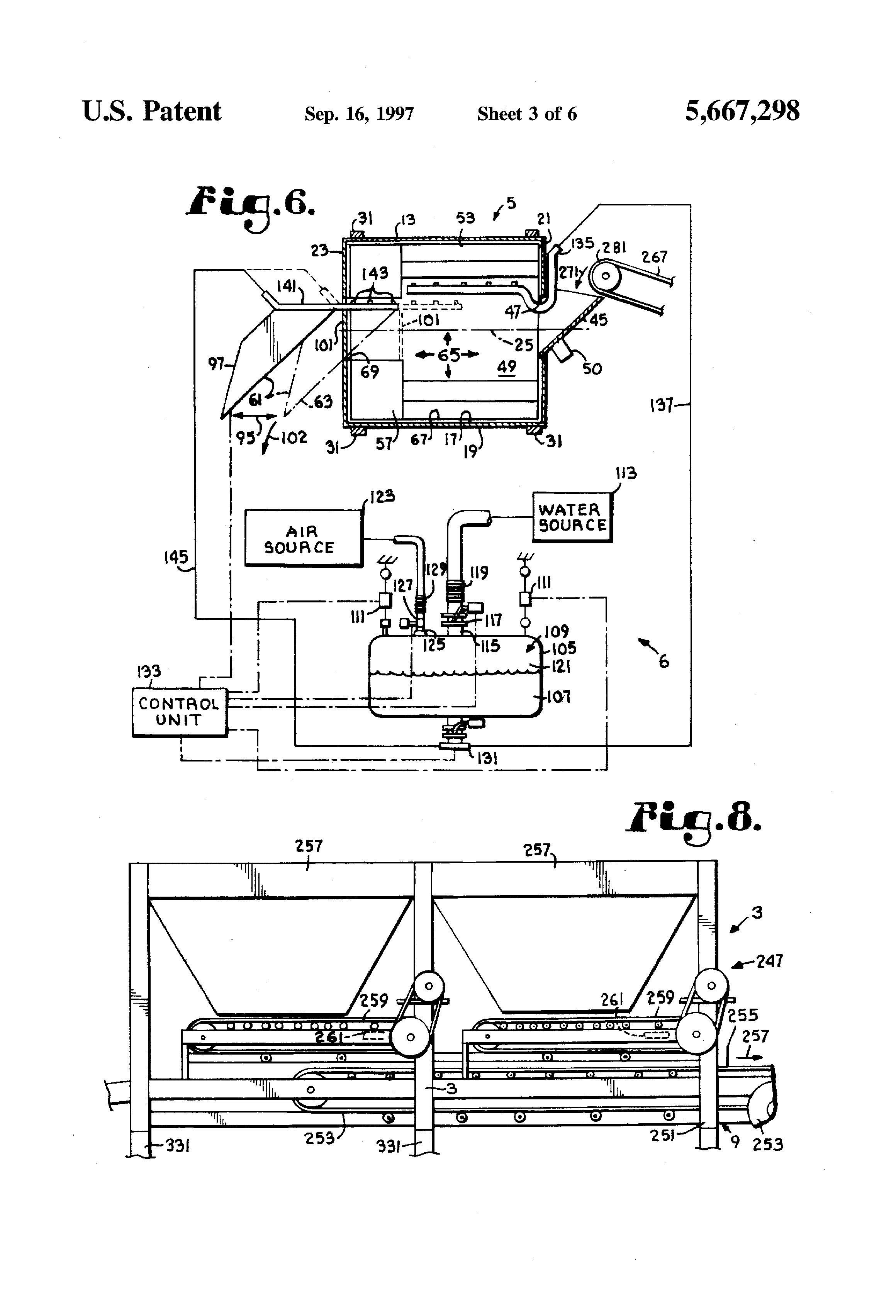 Patent Us5667298 Portable Concrete Mixer With Weigh
