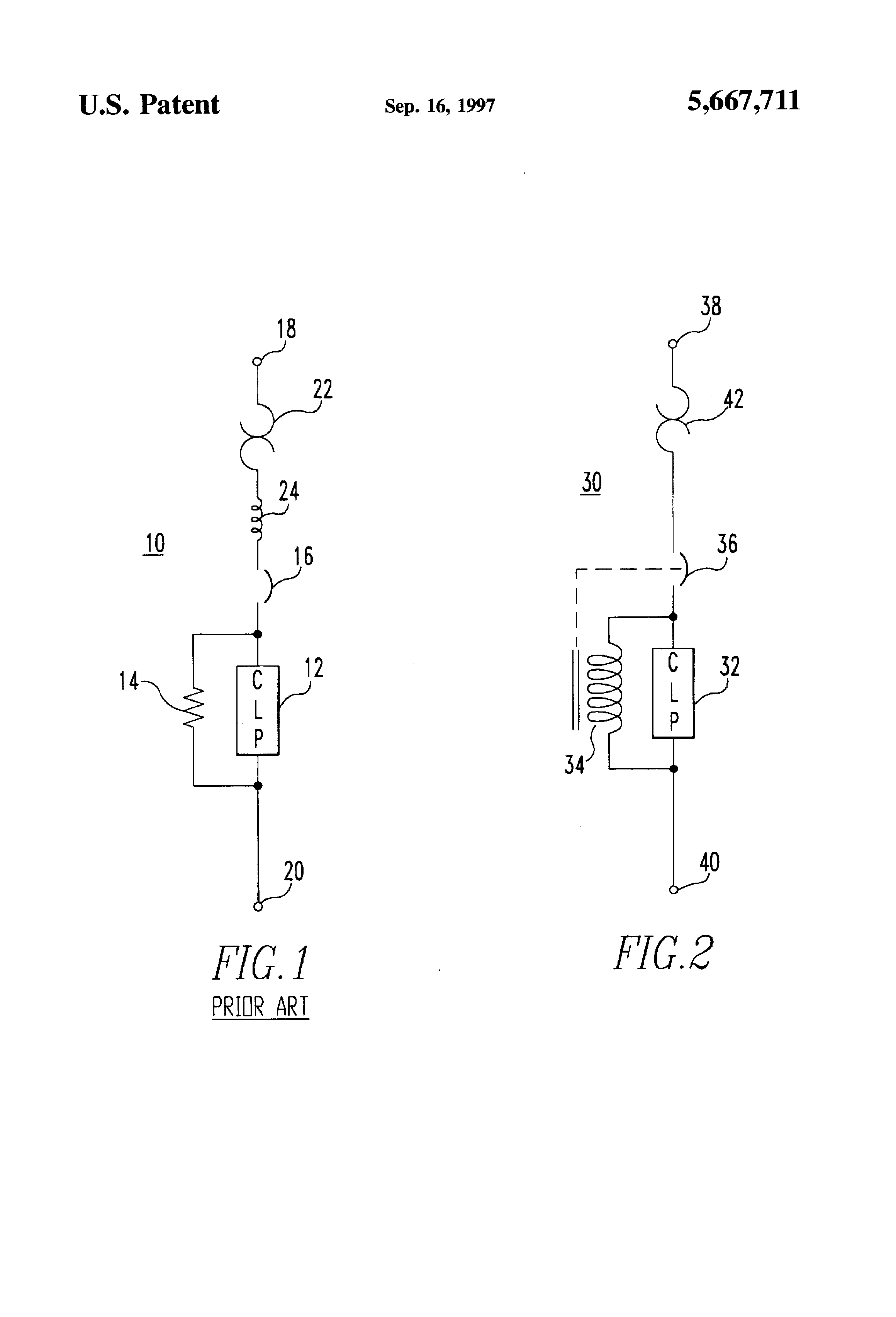 patent us5667711 circuit breaker incorporating trip coil as patent drawing