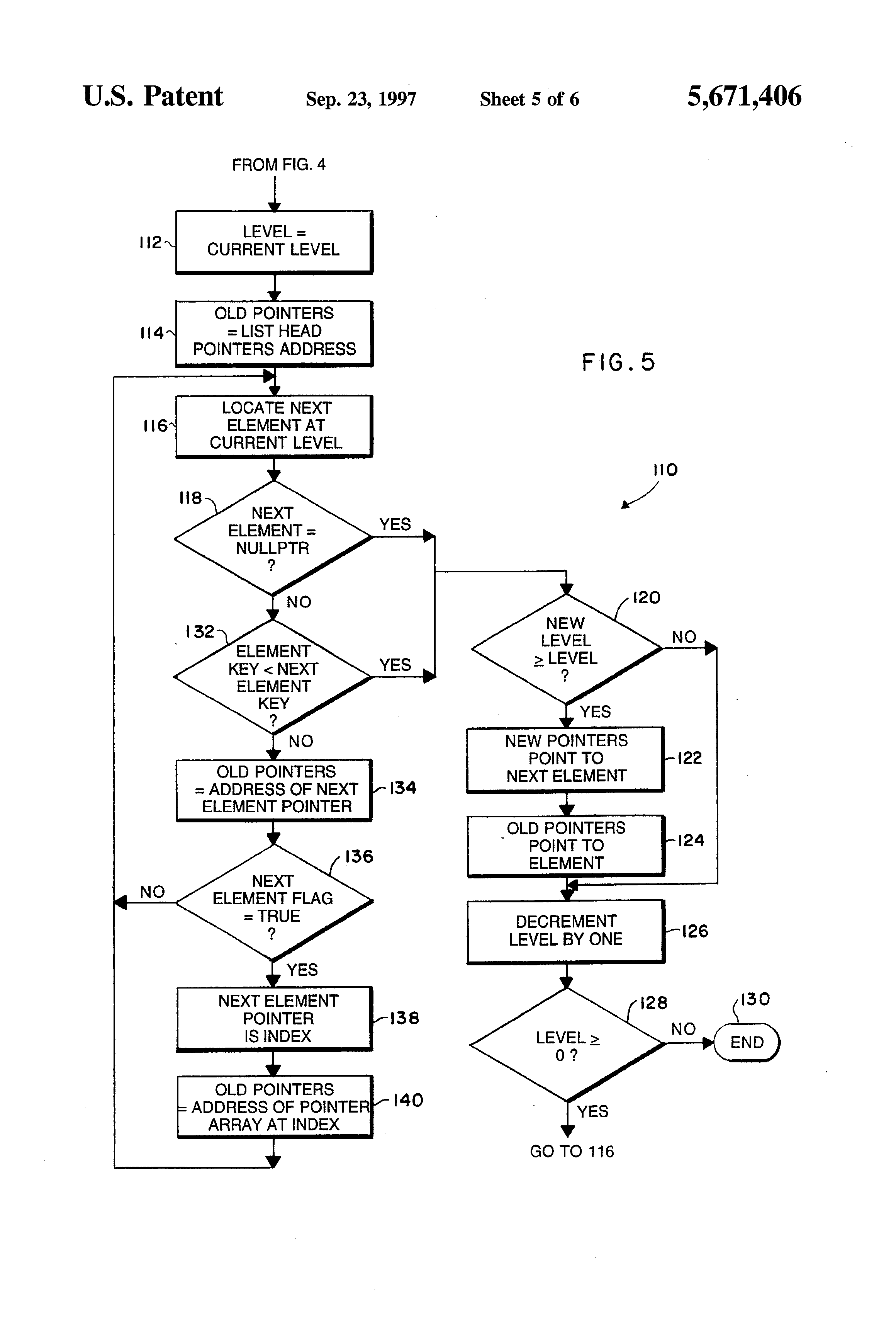 patent us5671406   data structure enhancements for in