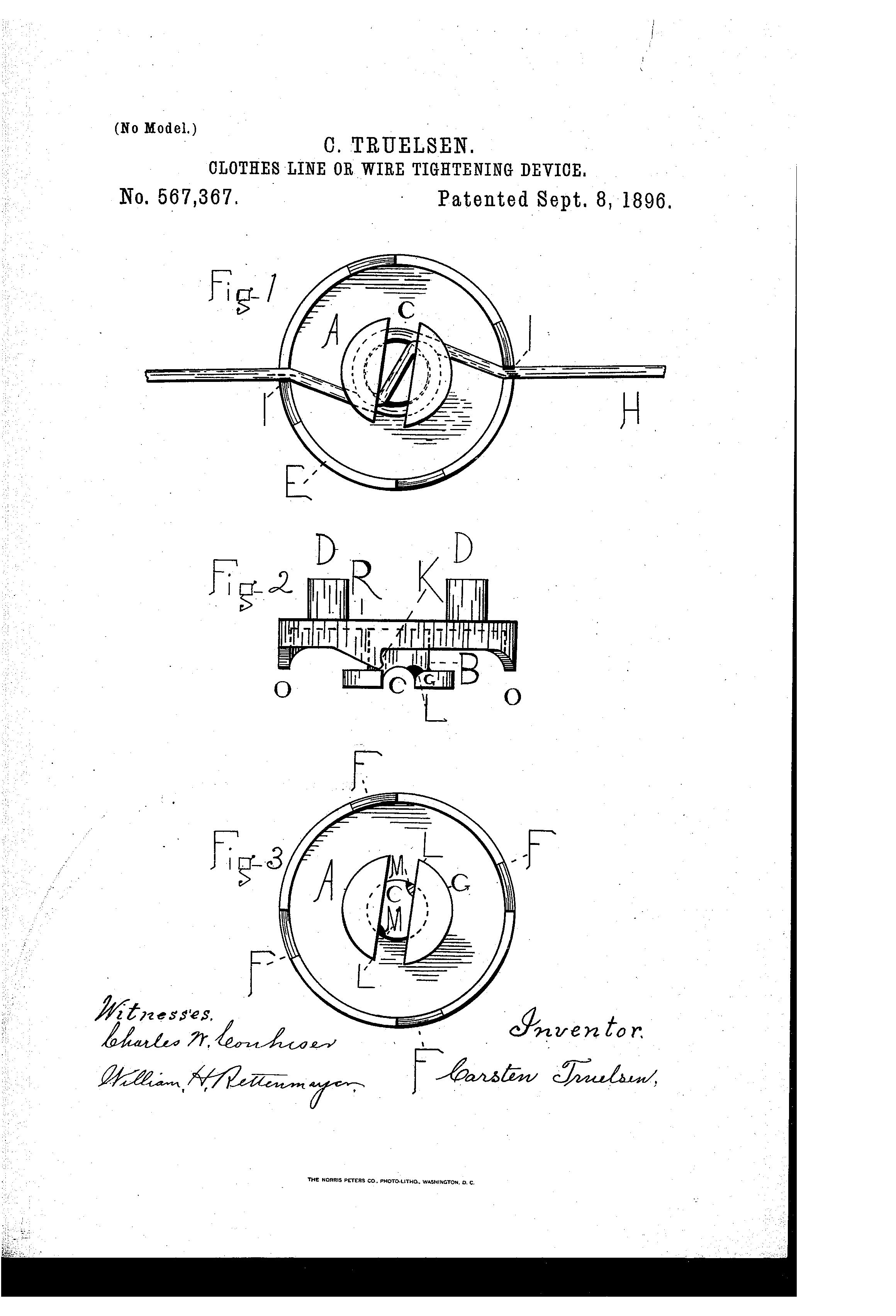 patent us567367