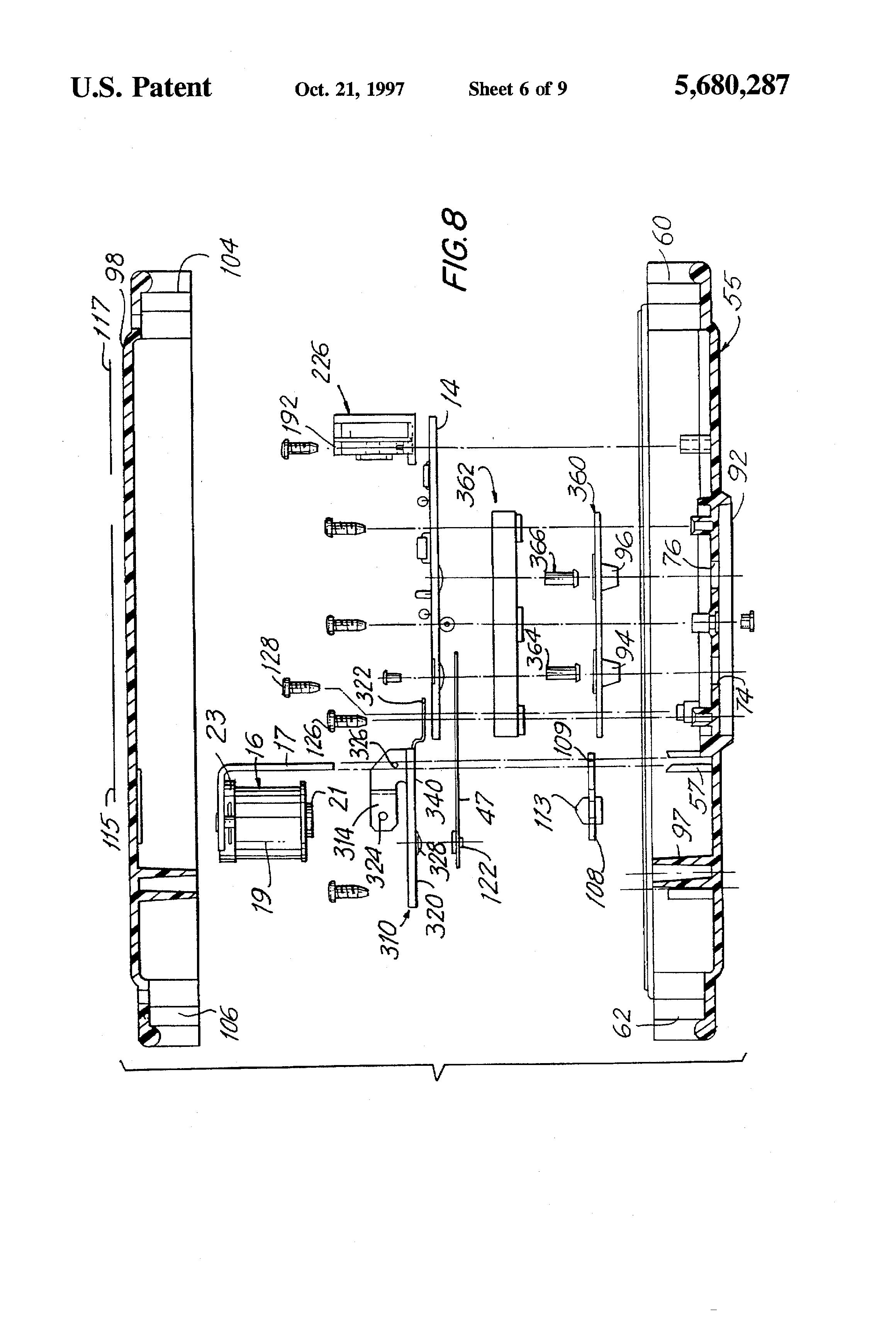 patent us5680287