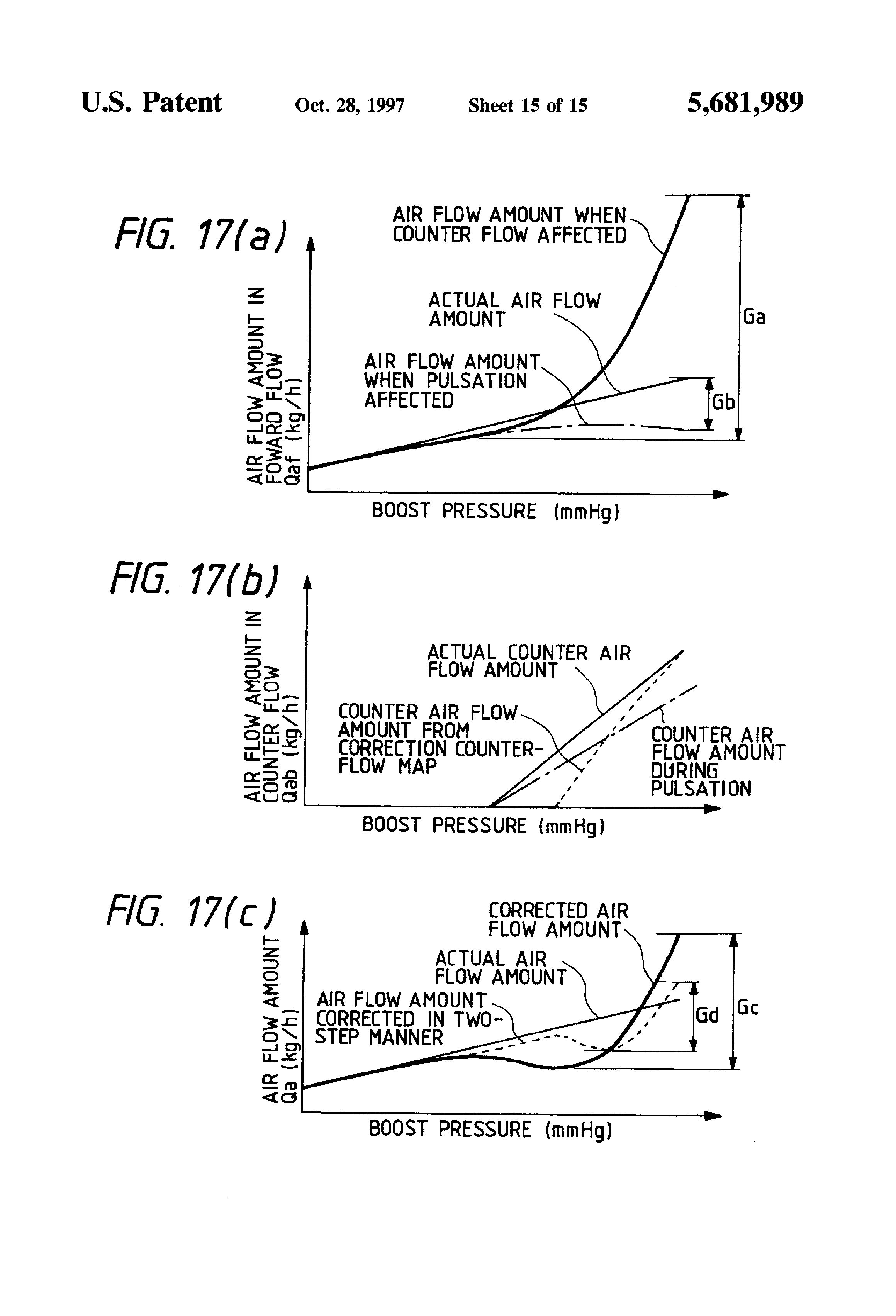 Patent US Intake Air Amount Measuring Apparatus For - Us air flow map
