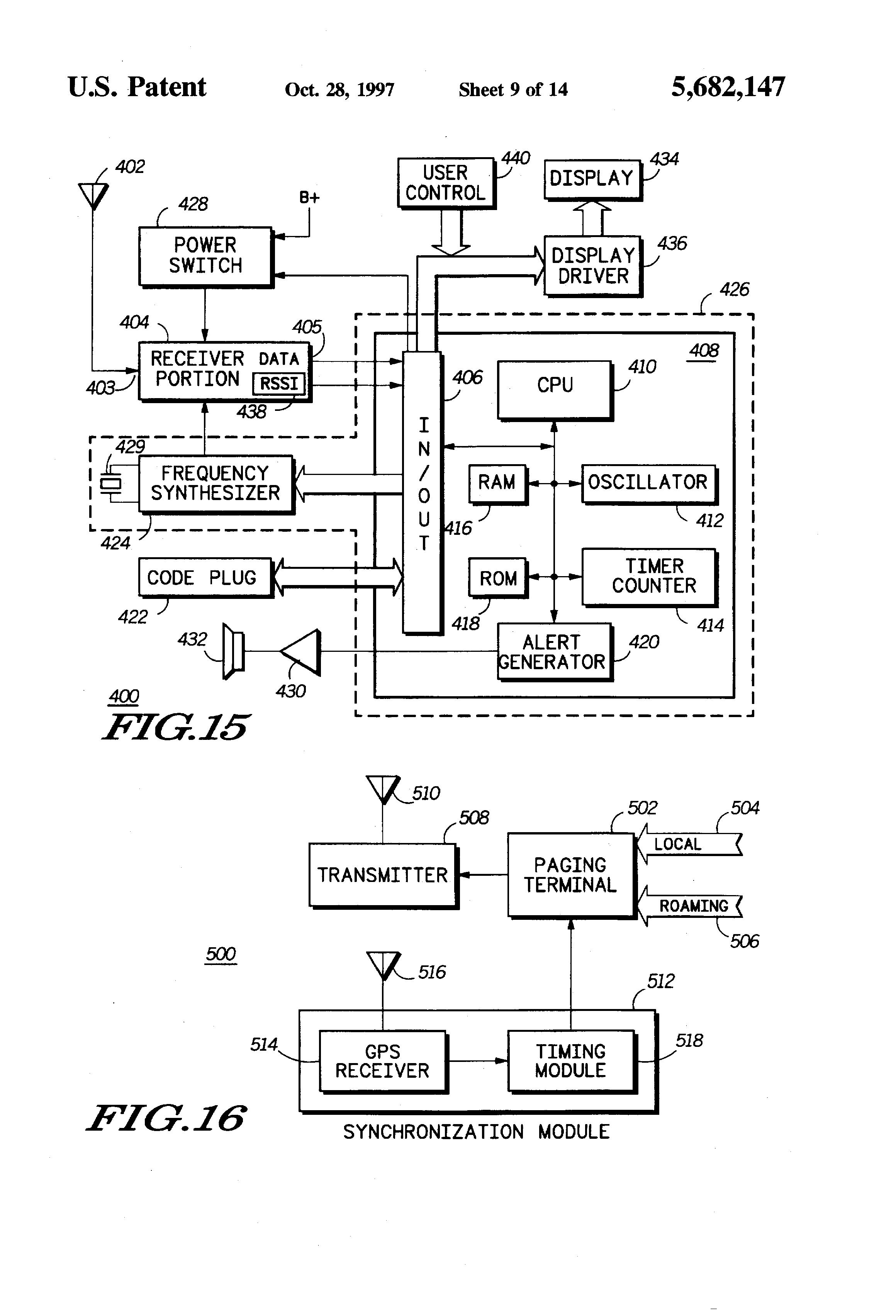 patent us5682147