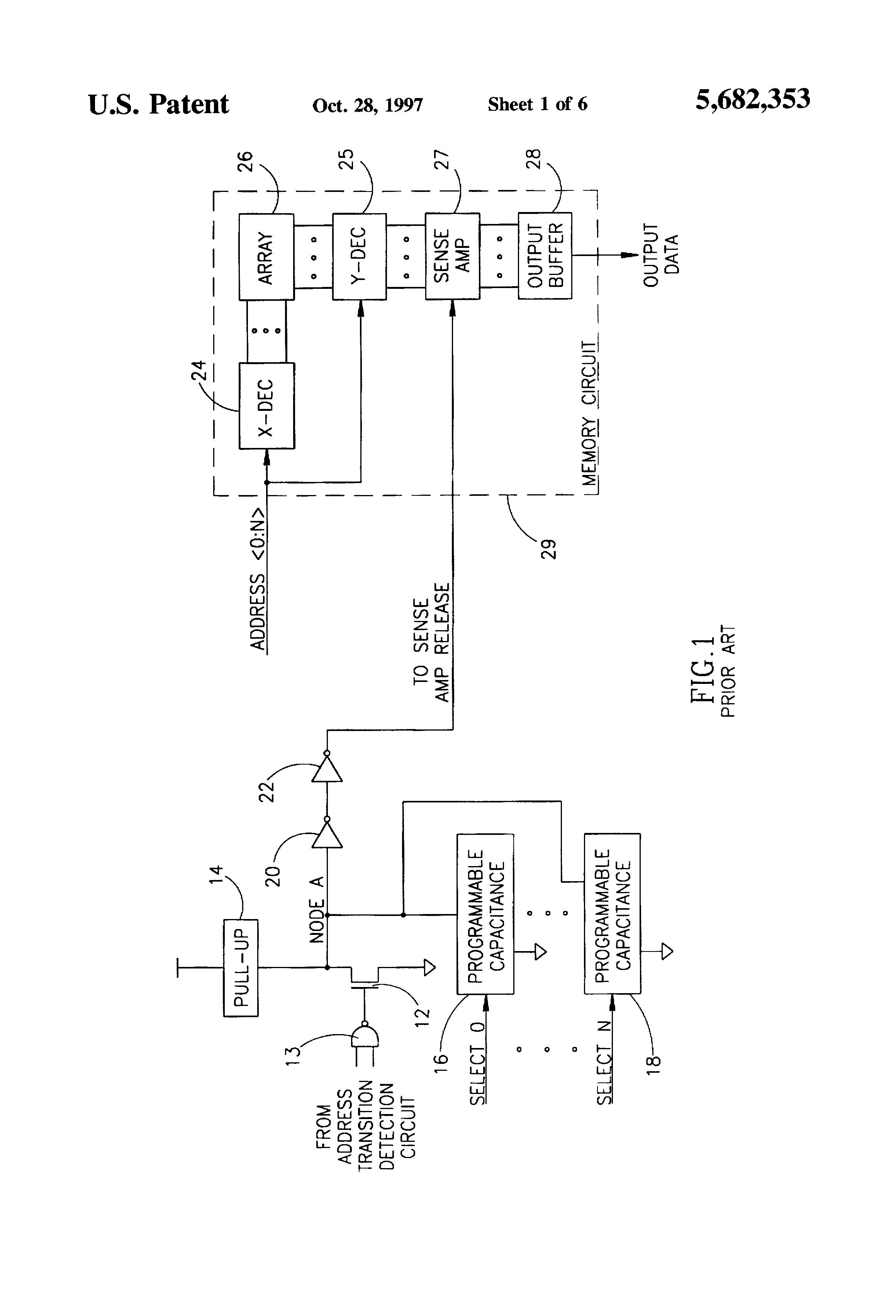 patent us5682353