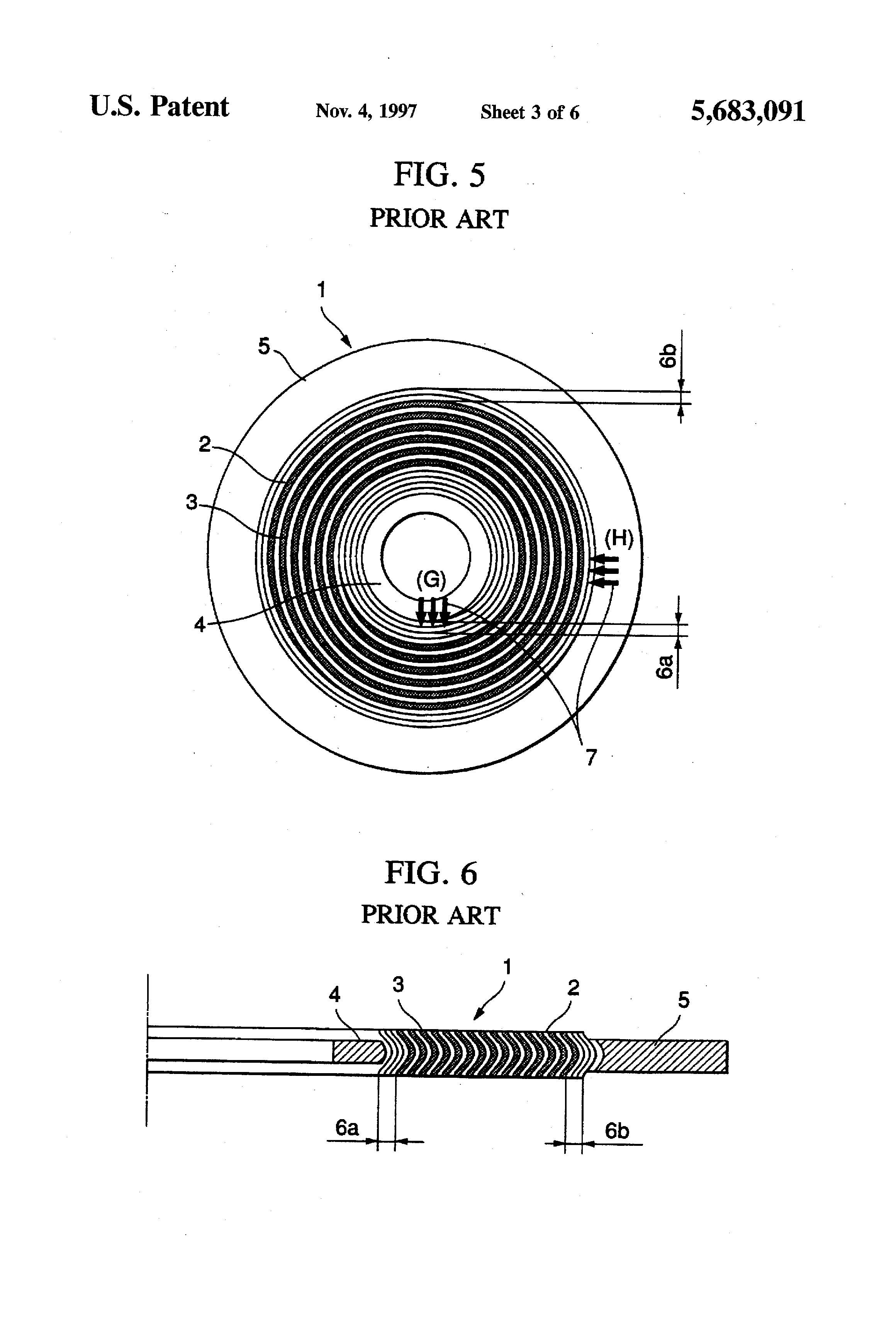 spiral wound gasket cross section. patent drawing spiral wound gasket cross section e