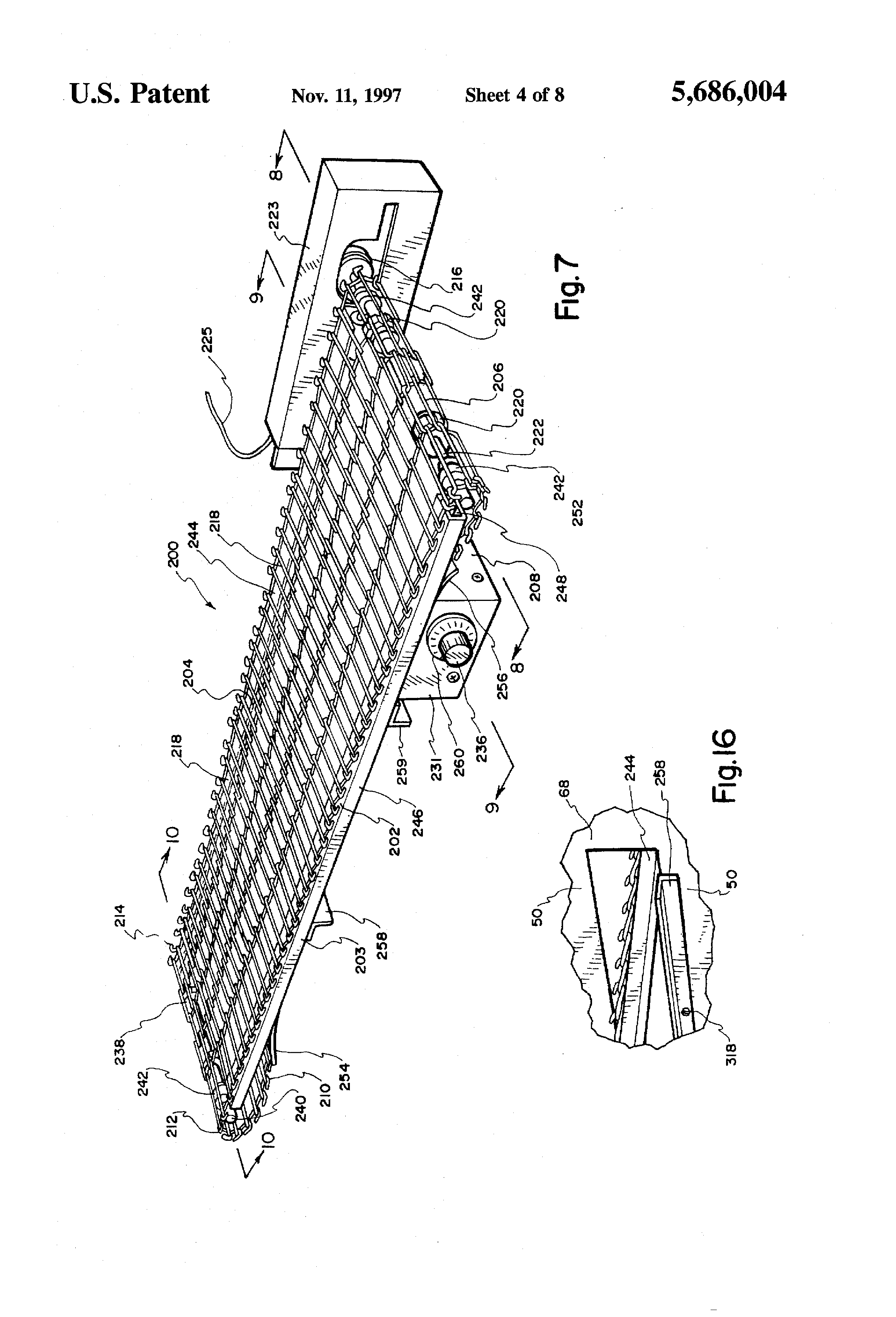 patent us pizza oven conveyor patents patent drawing