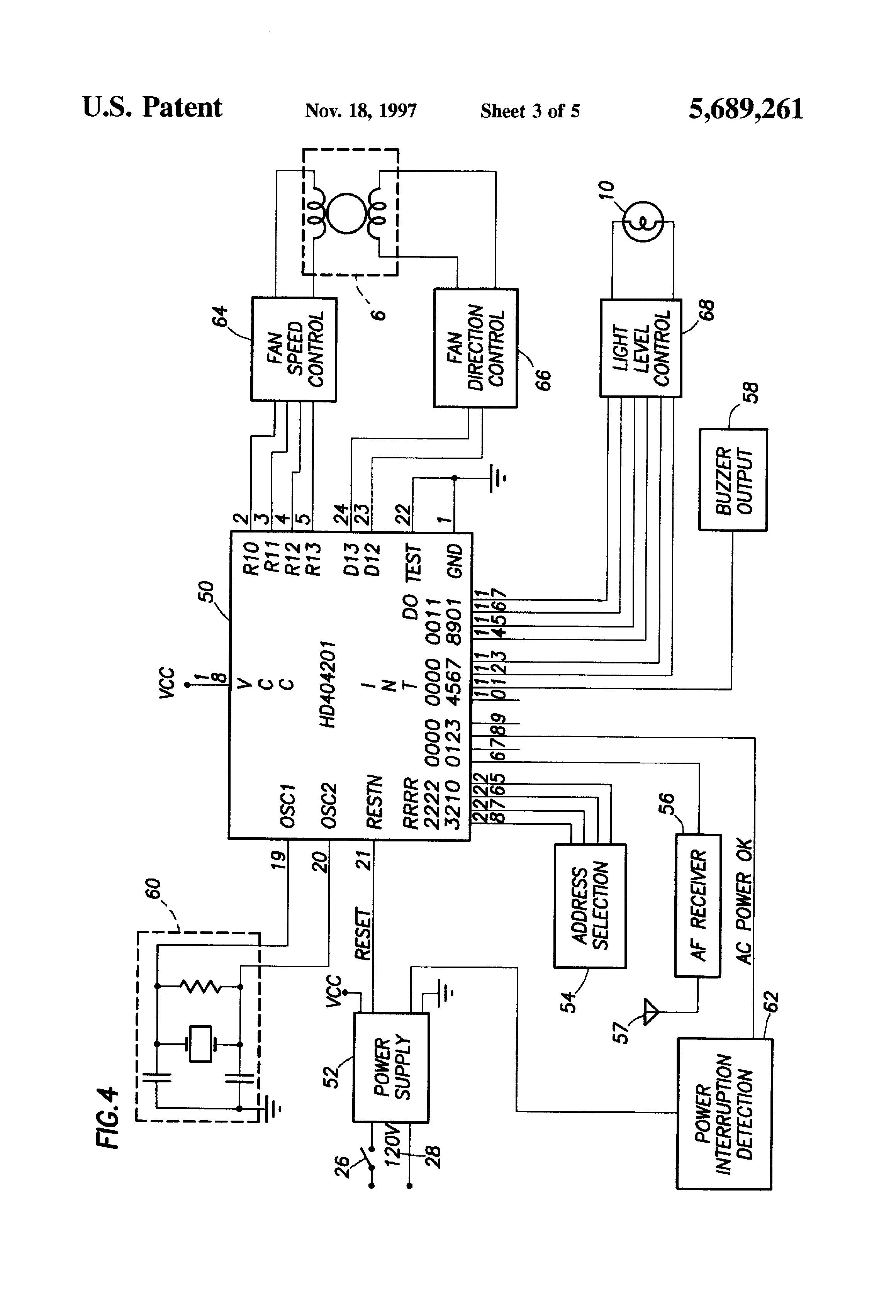 patent us5689261