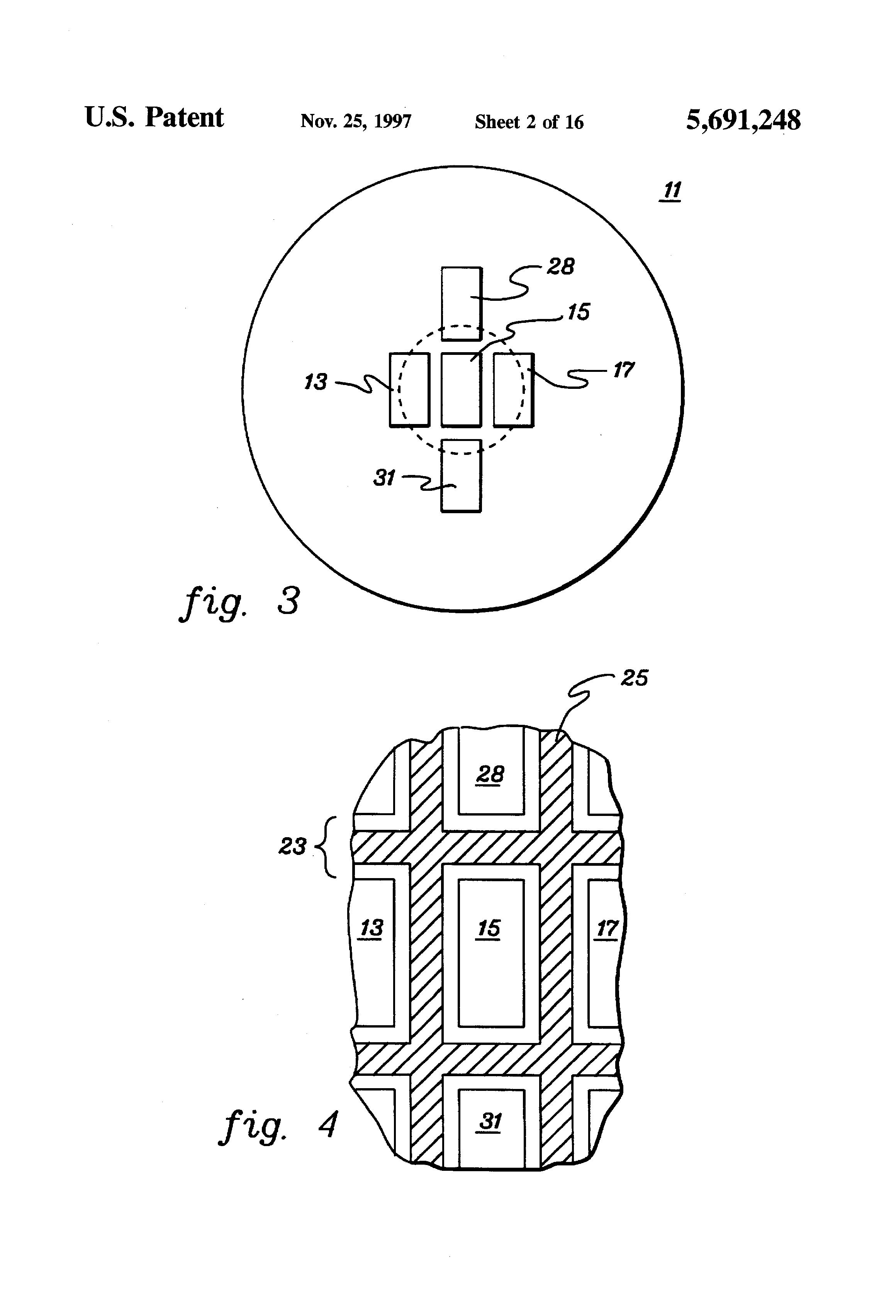 patent us5691248