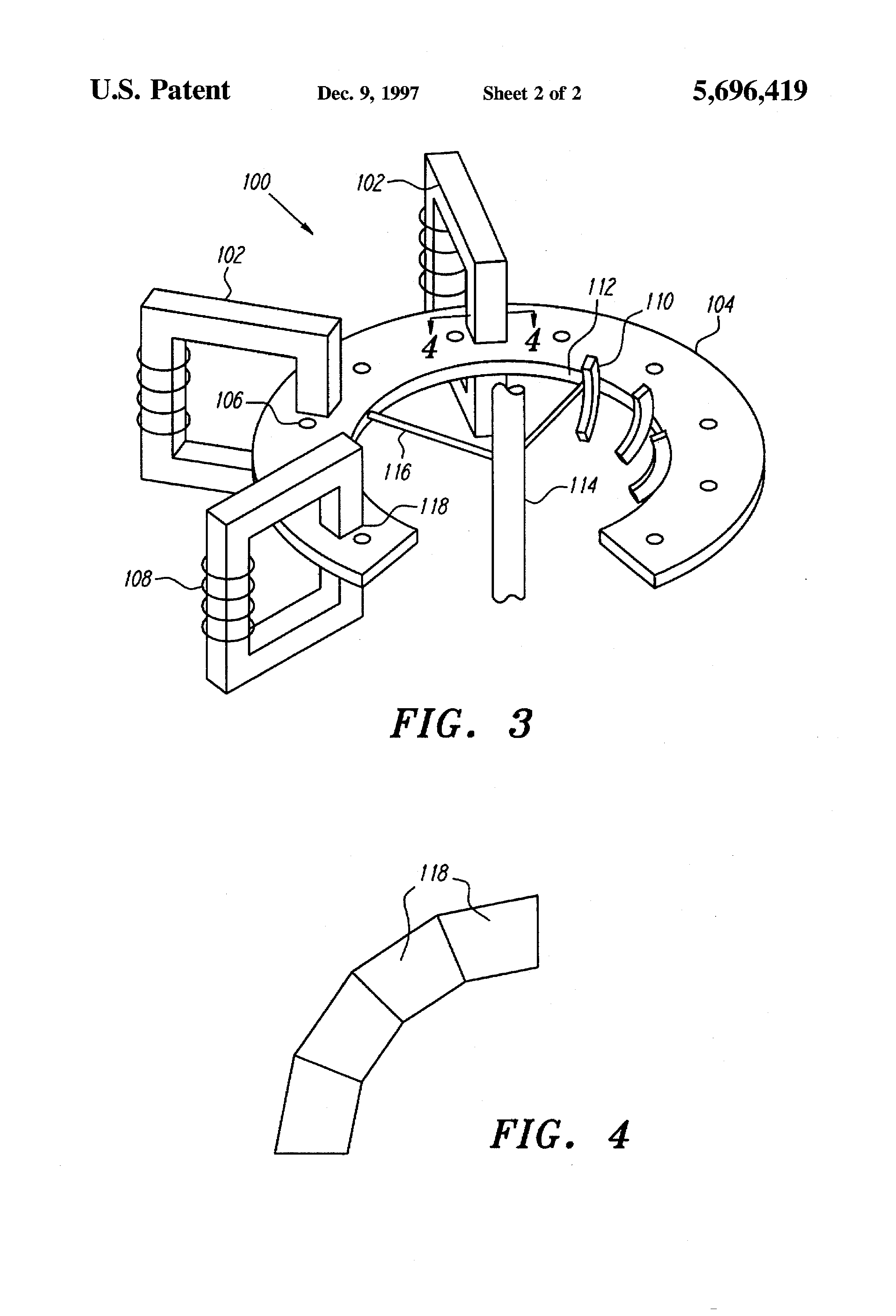 Patent US High efficiency electric power generator