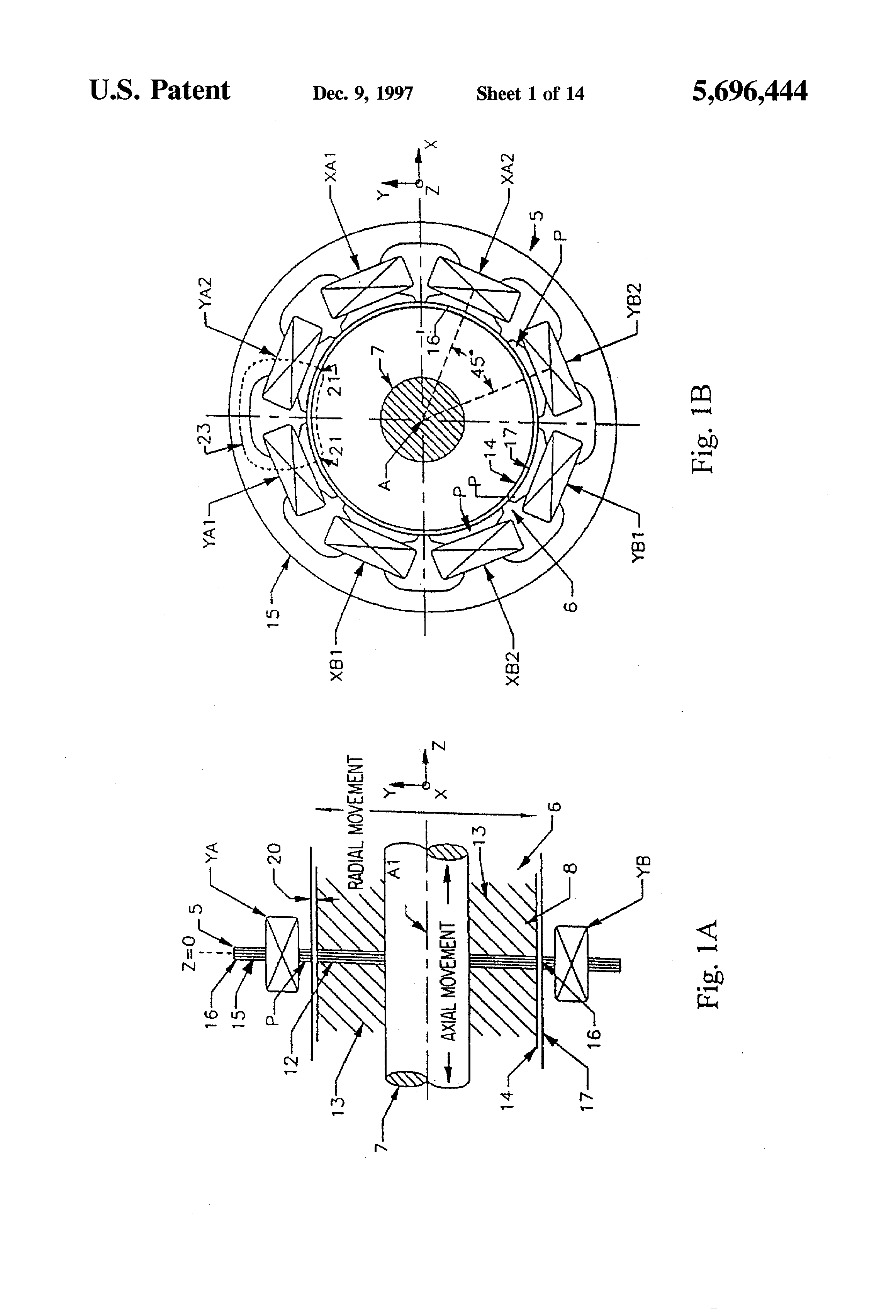 US5696444 1 patent us5955880 sealless pump rotor position and bearing teikoku teikoku pump wiring diagram at downloadfilm.co