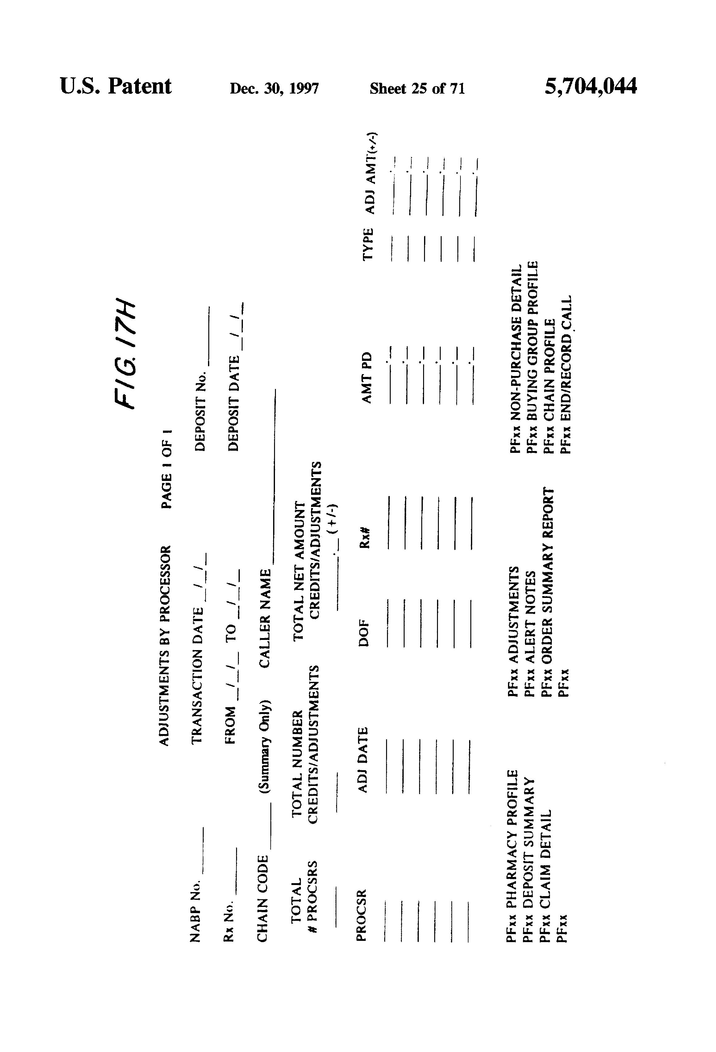 Patent US5704044 - Computerized healthcare accounts receivable ...