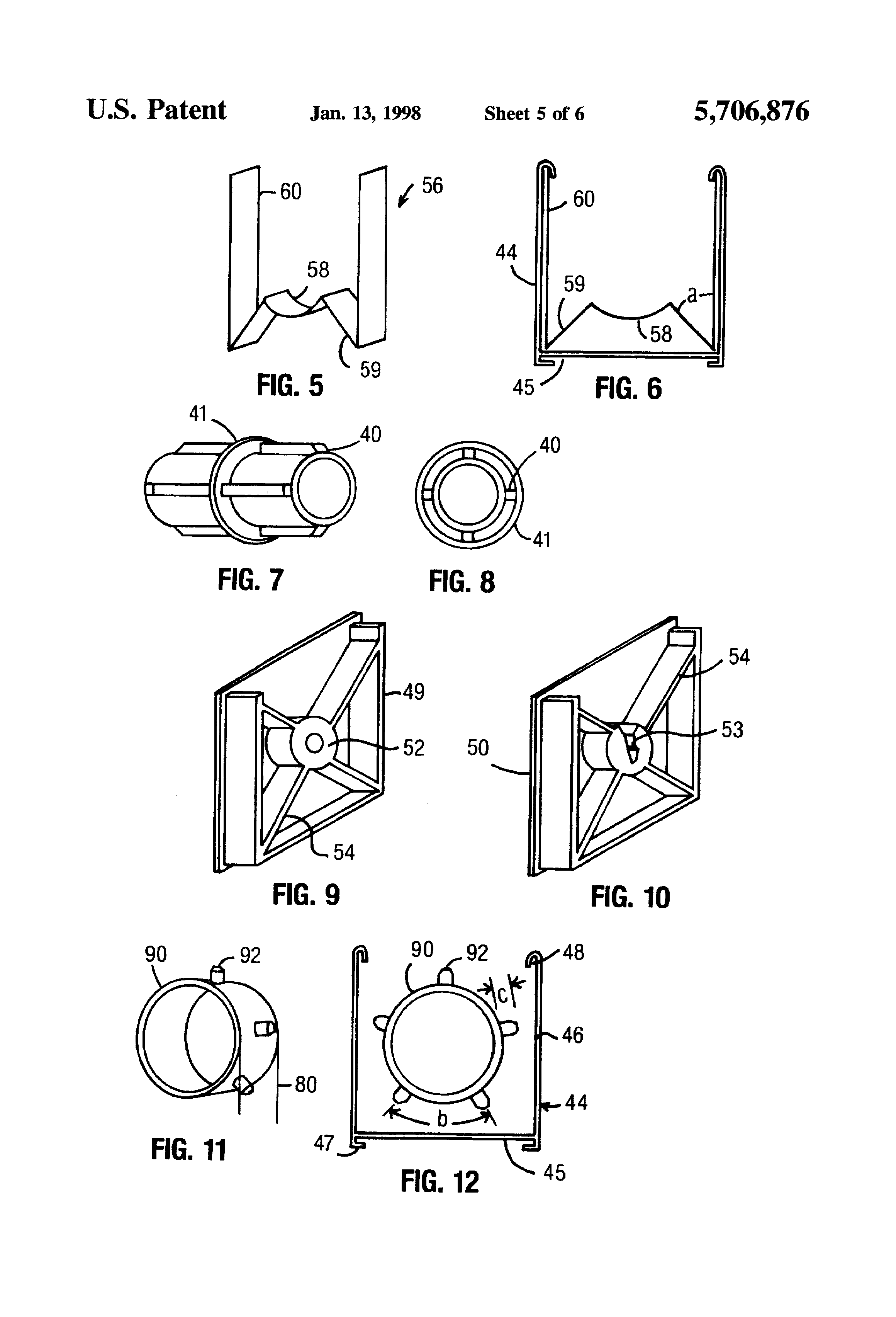 How to fix springs in roller shades and adjust spring tension - Patent Drawing