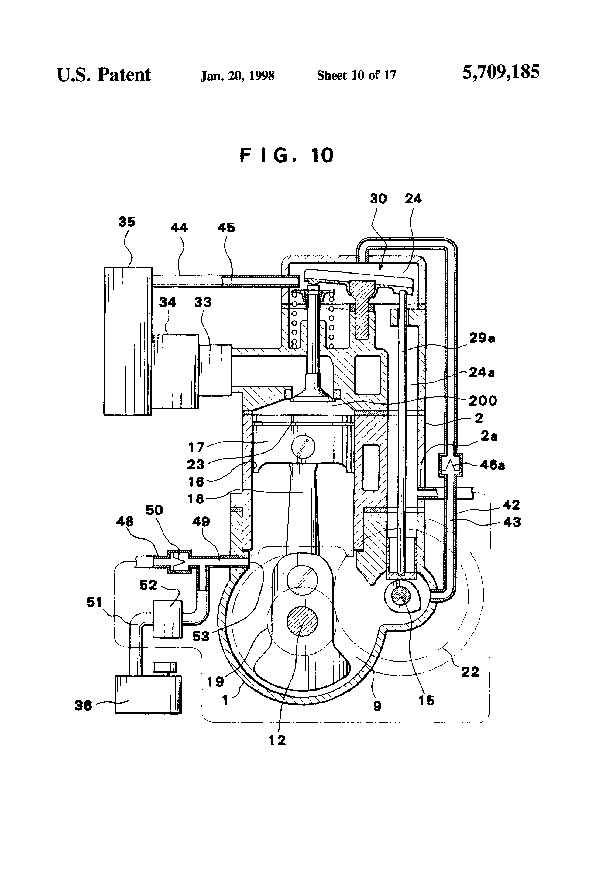 Patent Us5709185 - Lubricating System For Four-stroke-cycle Engine
