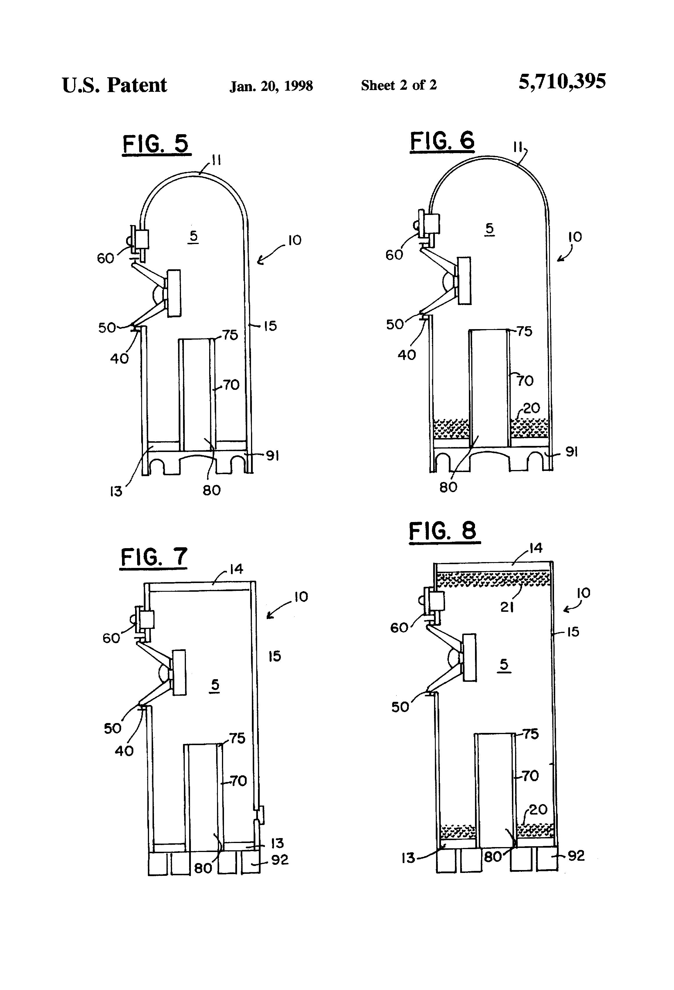 patent us5710395 helmholtz resonator loudspeaker. Black Bedroom Furniture Sets. Home Design Ideas