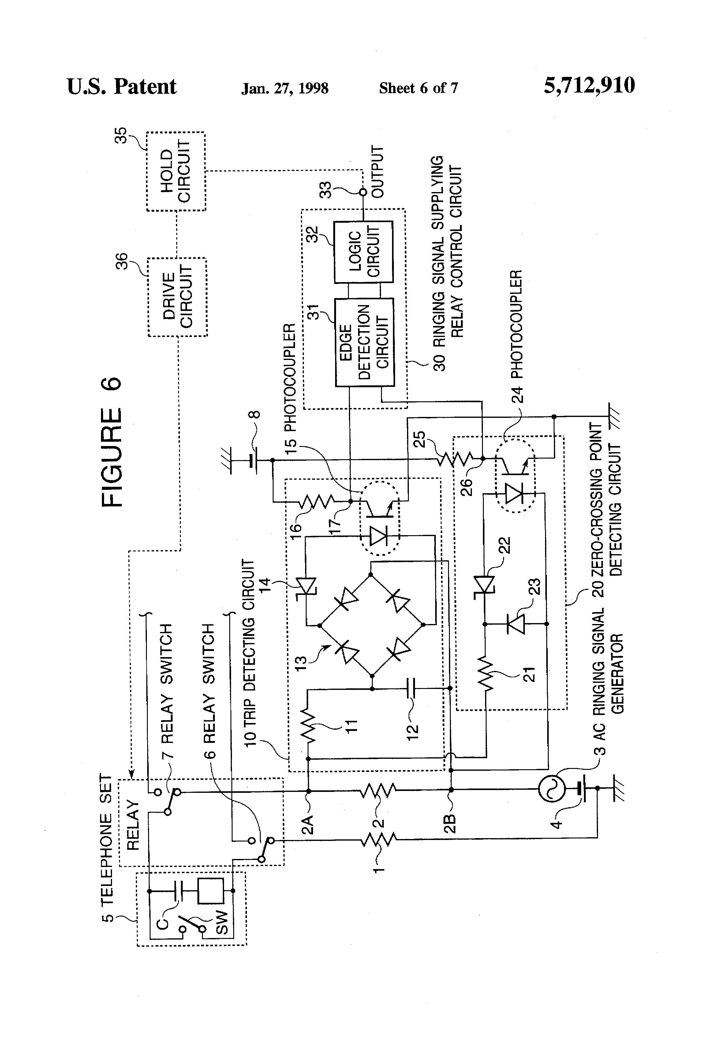 patent us5712910
