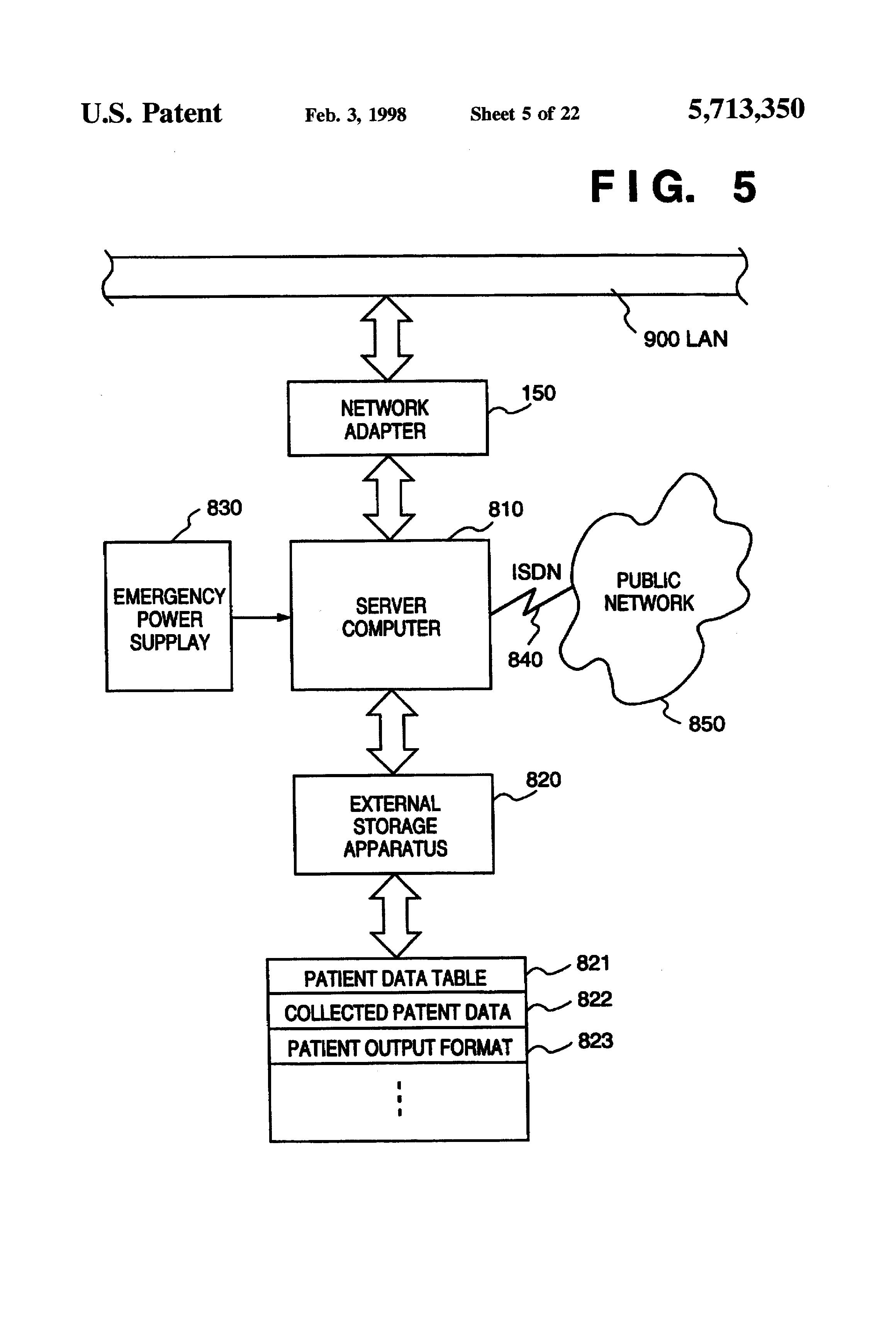 Patent US5713350