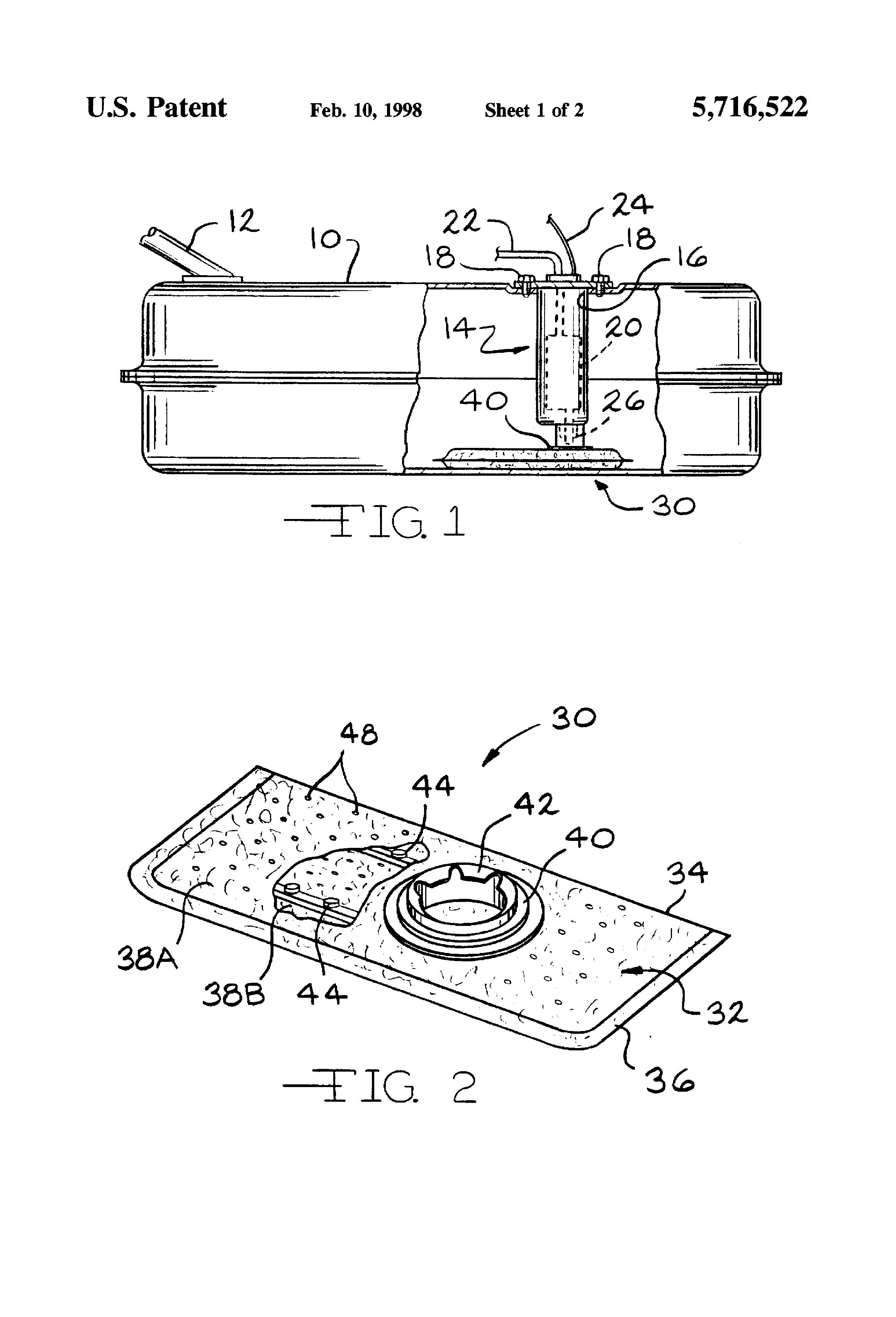 patent us5716522