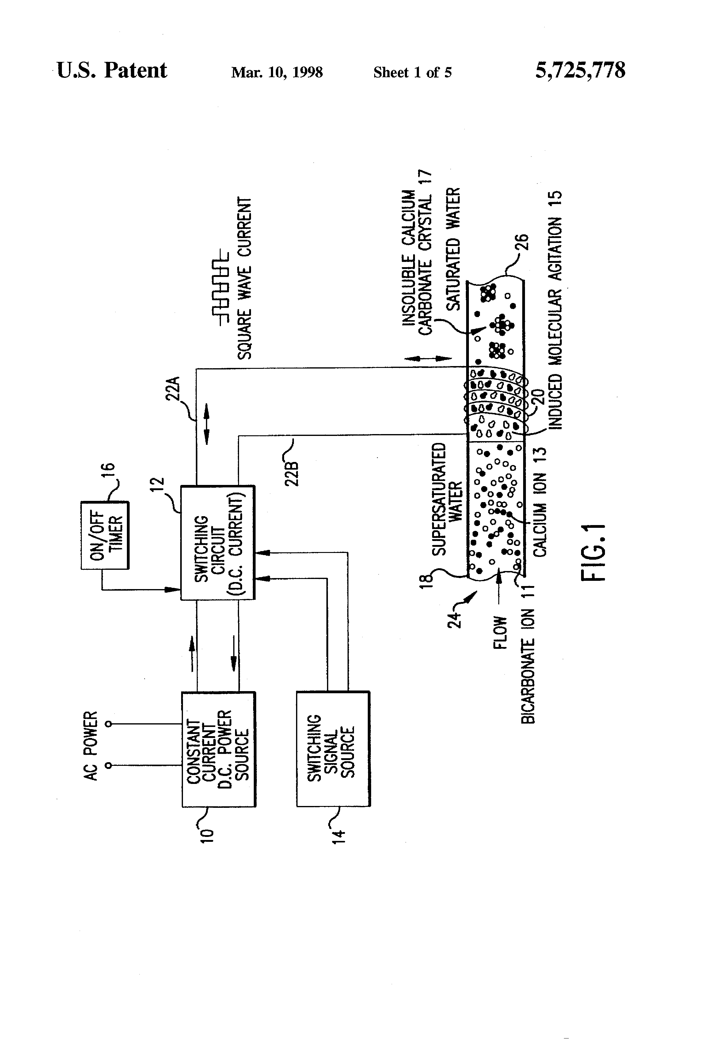patent us5725778